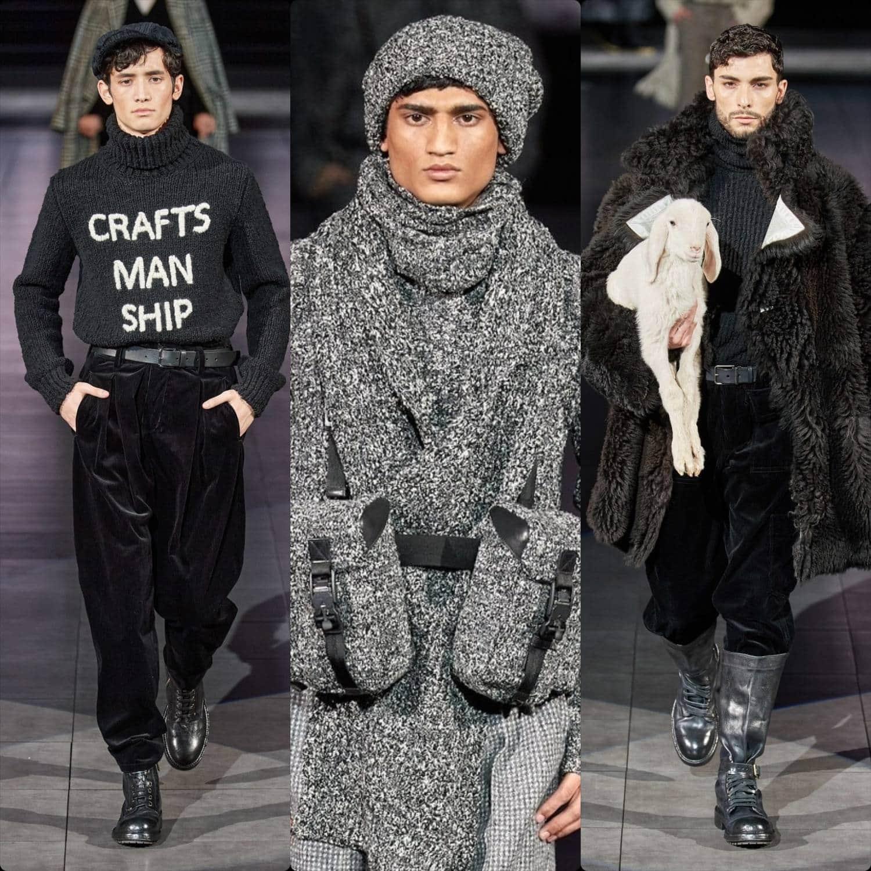 Dolce Gabbana Fall-Winter 2020-2021 Milan Men by RUNWAY MAGAZINE
