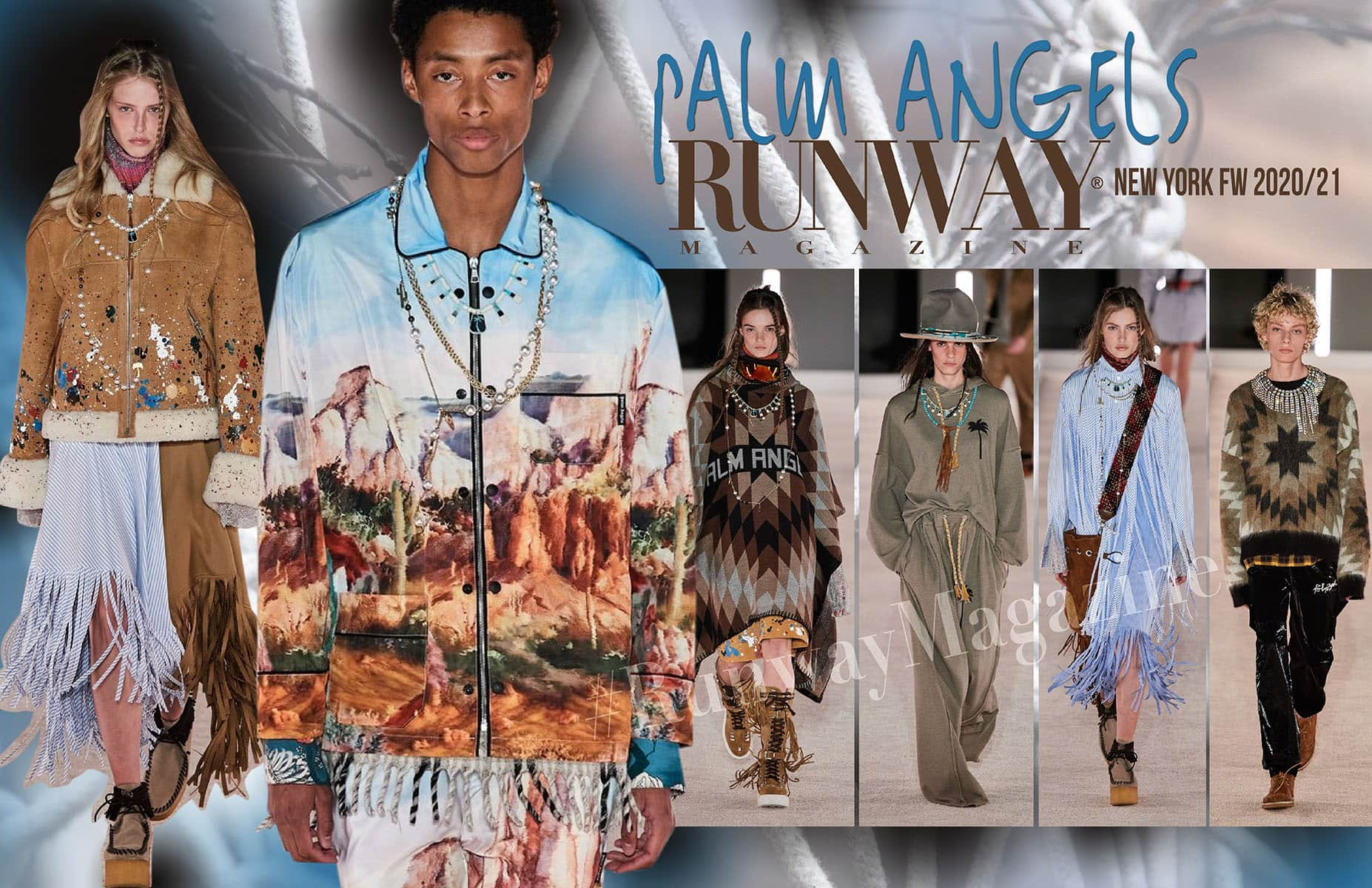 Palm Angels Fall-Winter 2020-2021 New York by RUNWAY MAGAZINE