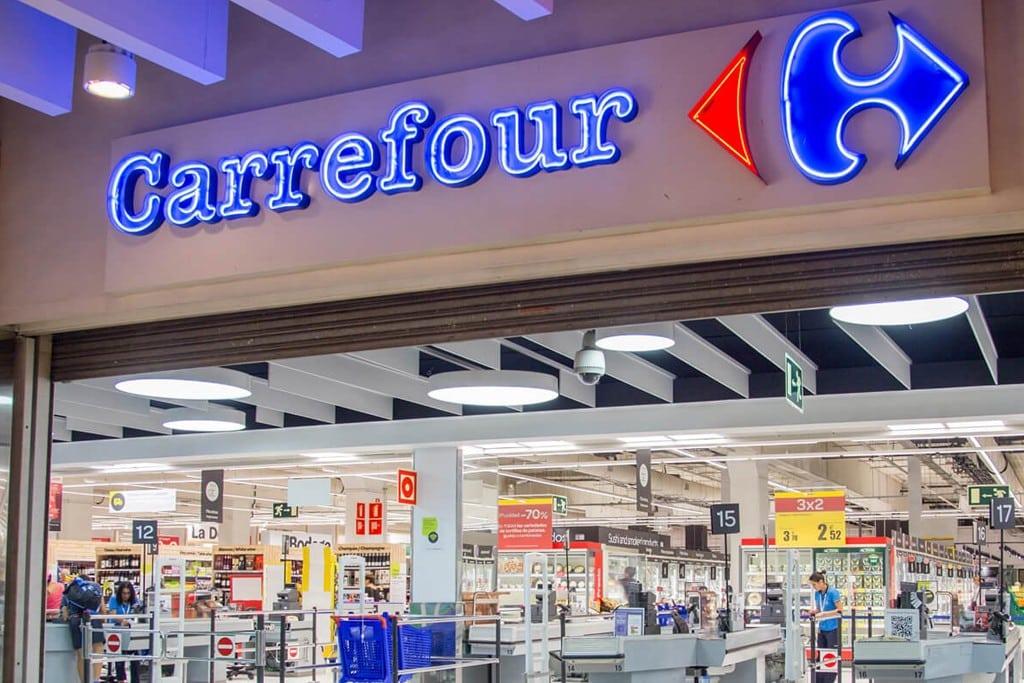 Carrefour (Monoprix) gave €3 million for essential kits