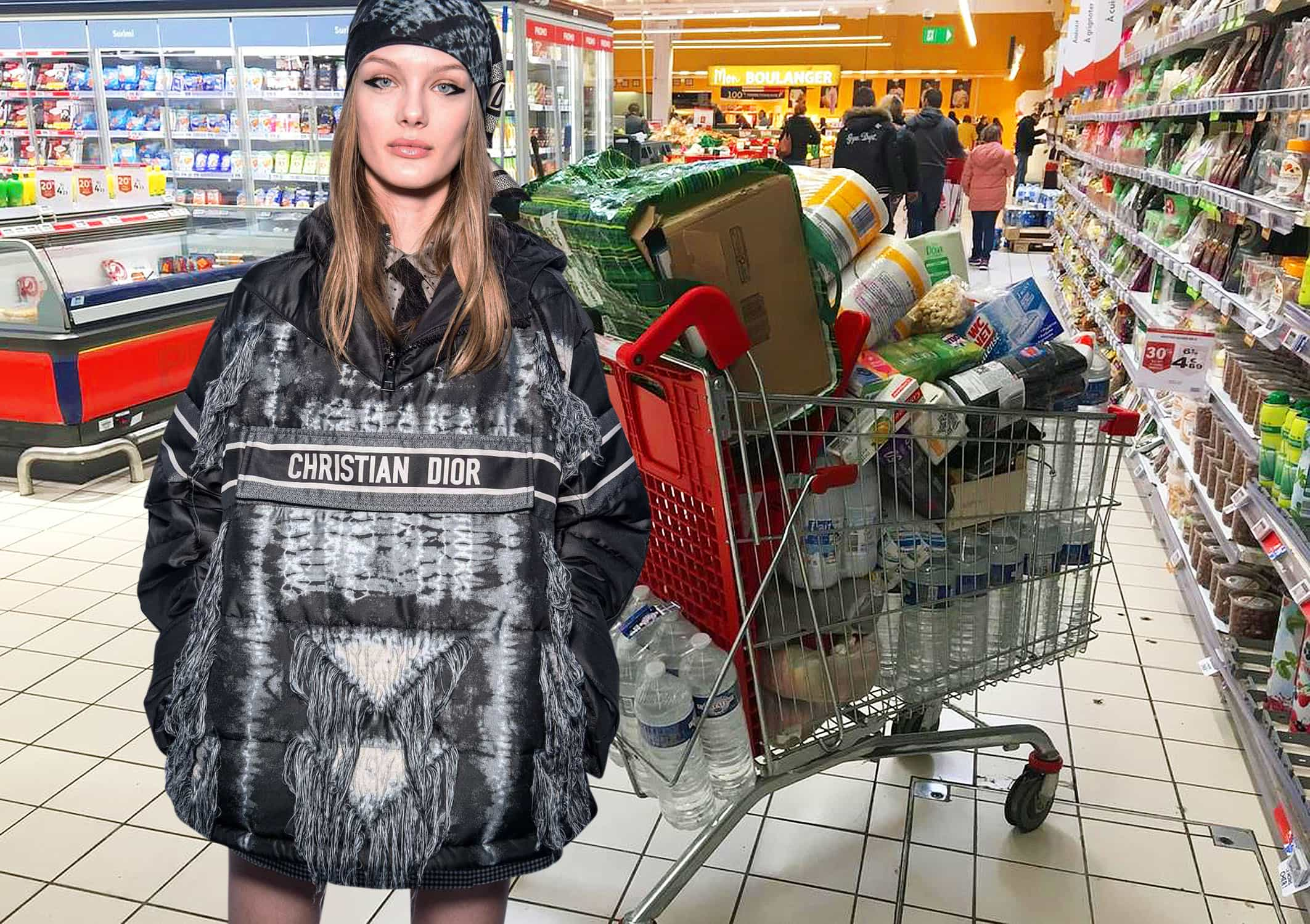 Christian Dior Fall Winter 2020-2021 - coronavirus Parisian Bobo shopping style