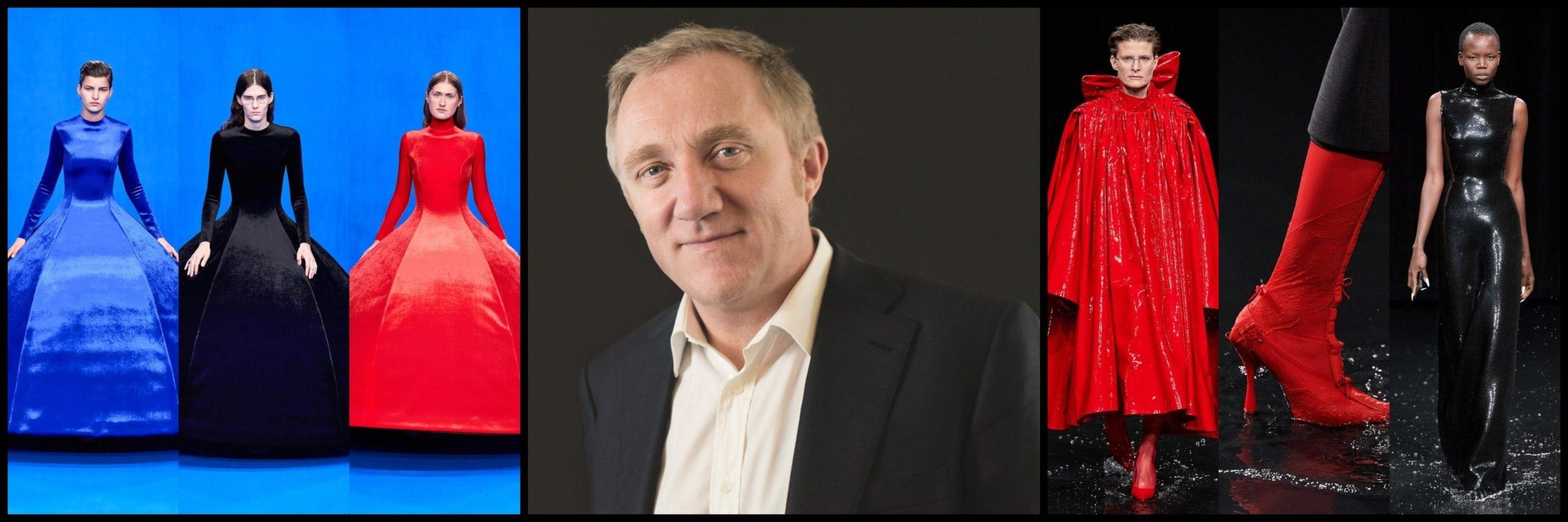 Франсуа-Анри Пино, генеральный директор Group Kering - Balenciaga