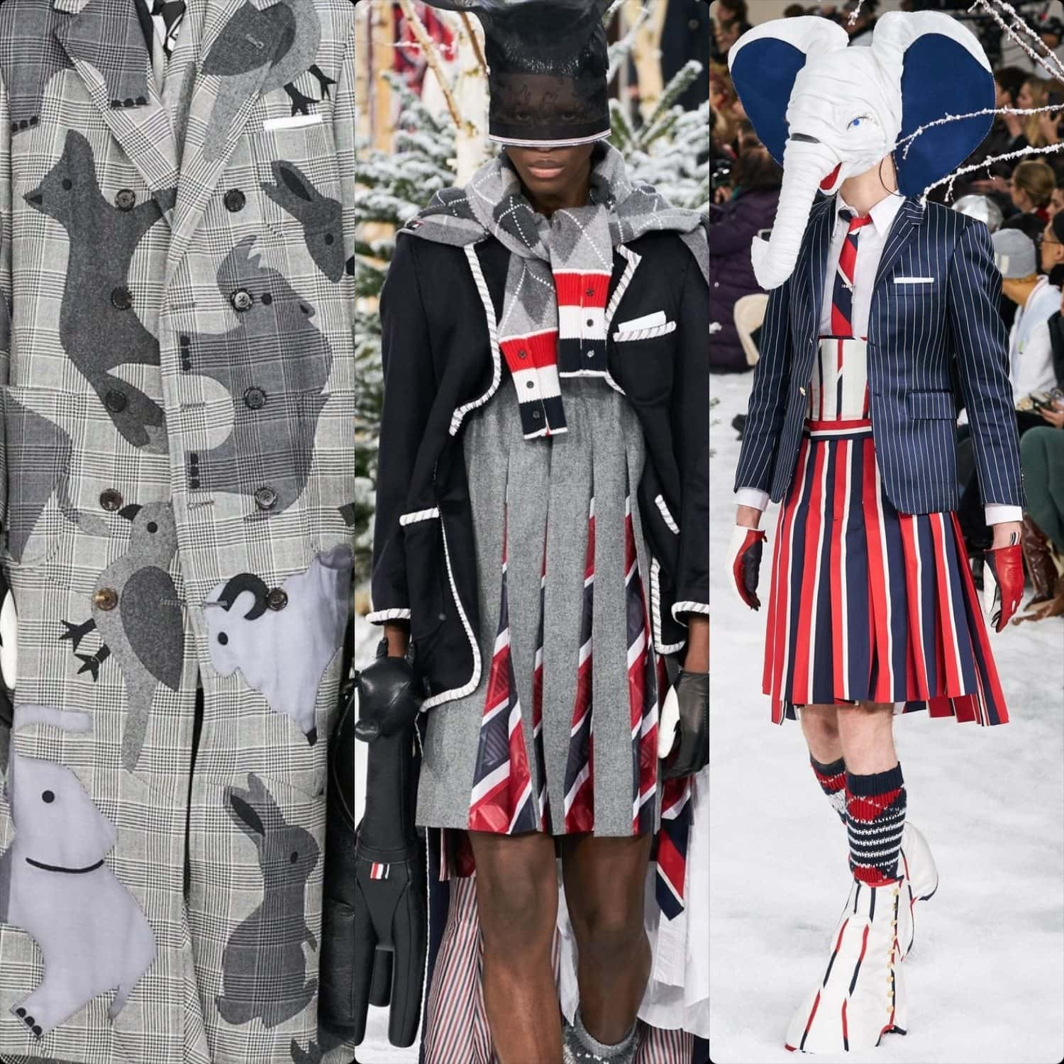 Thom Browne Fall-Winter 2020-2021 Paris by RUNWAY MAGAZINE