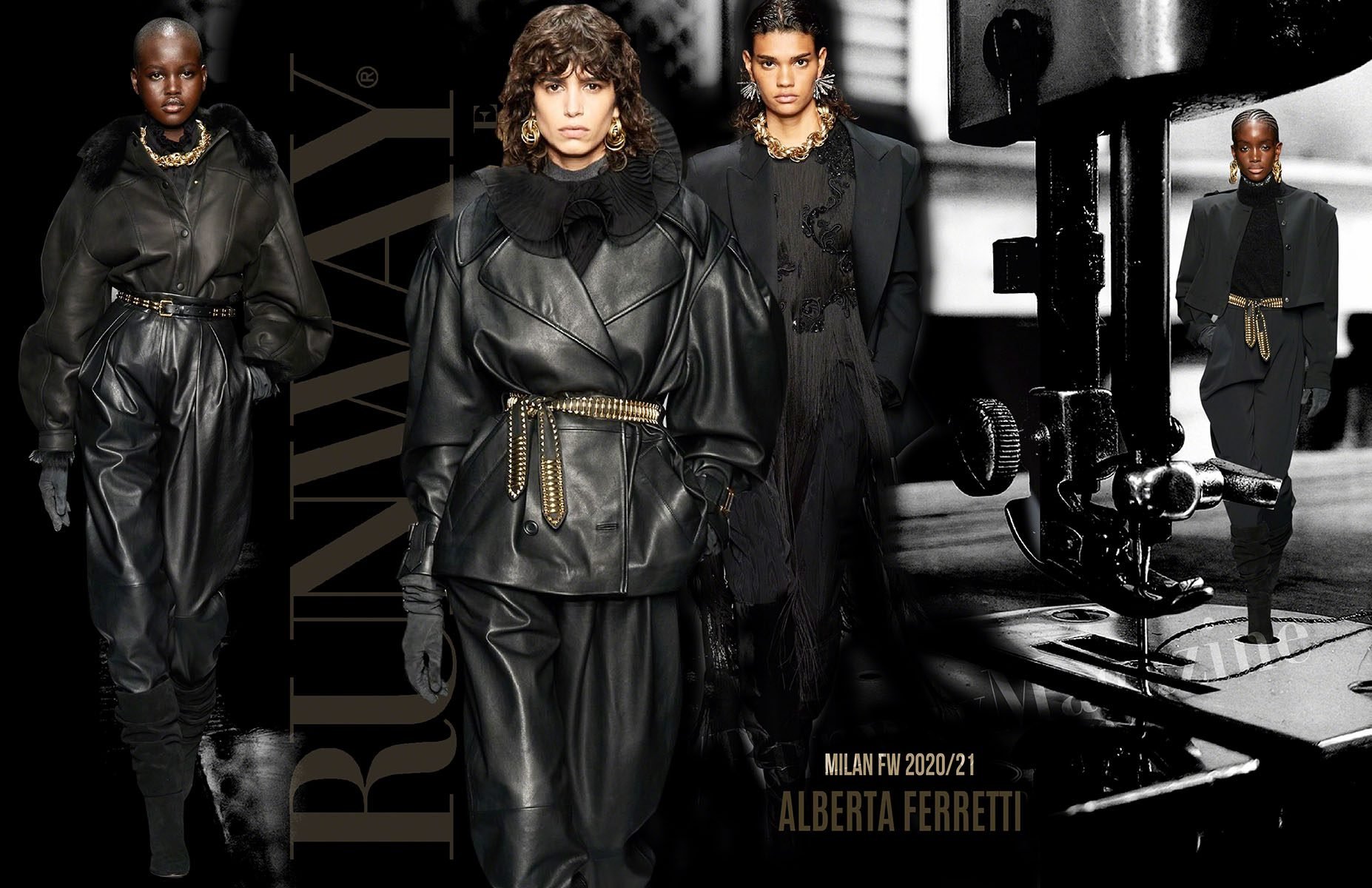 ALBERTA FERRETTI Fall-Winter 2020-2021 Milan by RUNWAY MAGAZINE