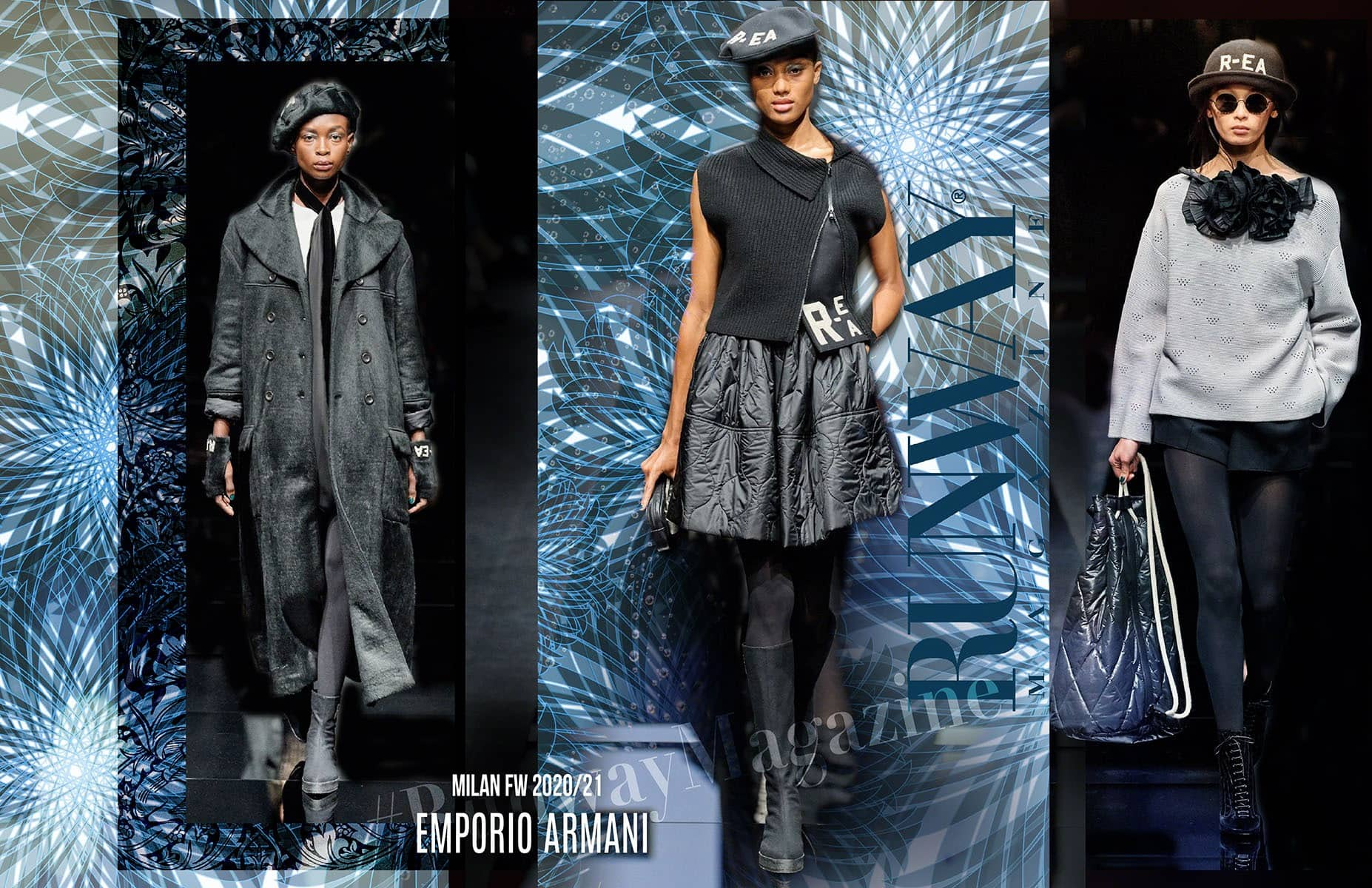Emporio Armani Fall-Winter 2020-2021 Milan by RUNWAY MAGAZINE