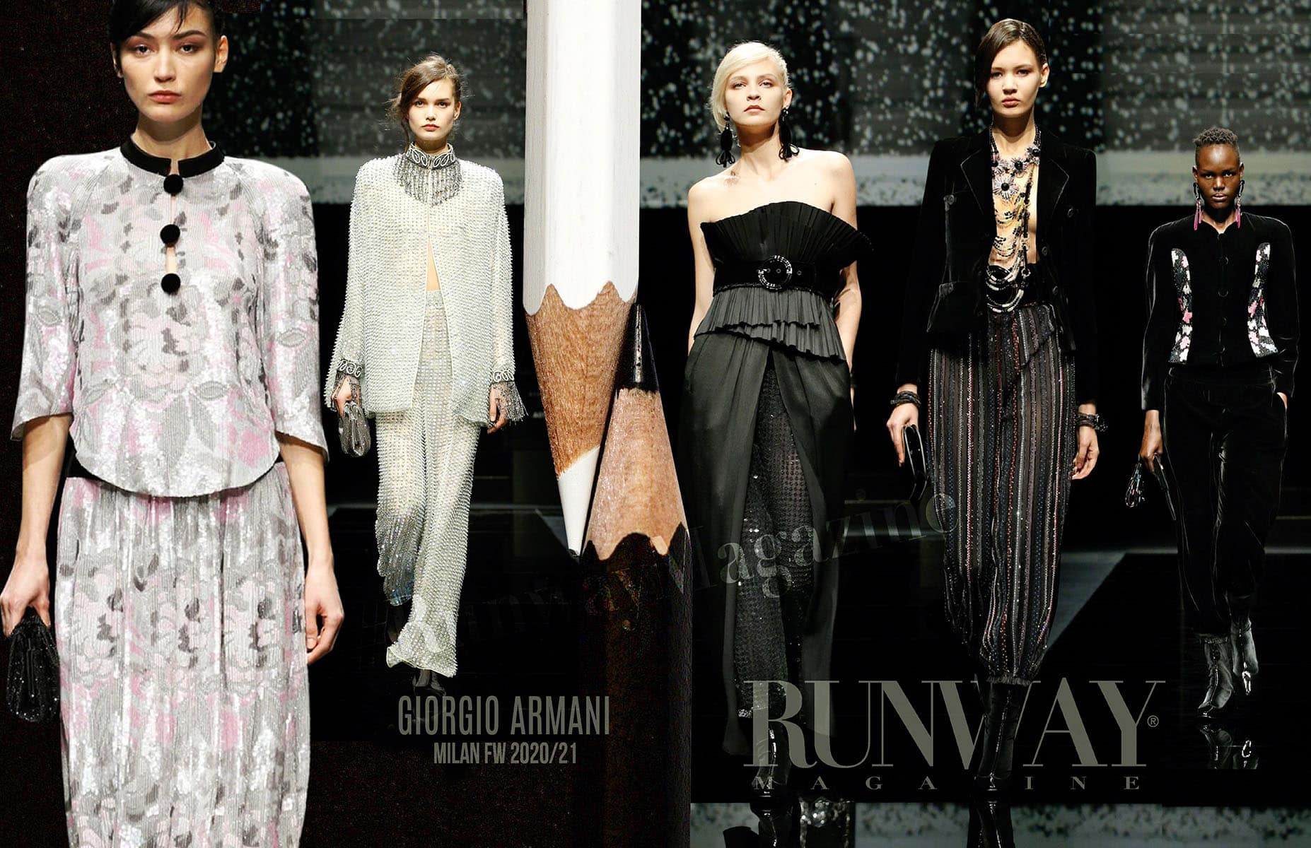 Giorgio Armani Fall-Winter 2020-2021 Milan by RUNWAY MAGAZINE