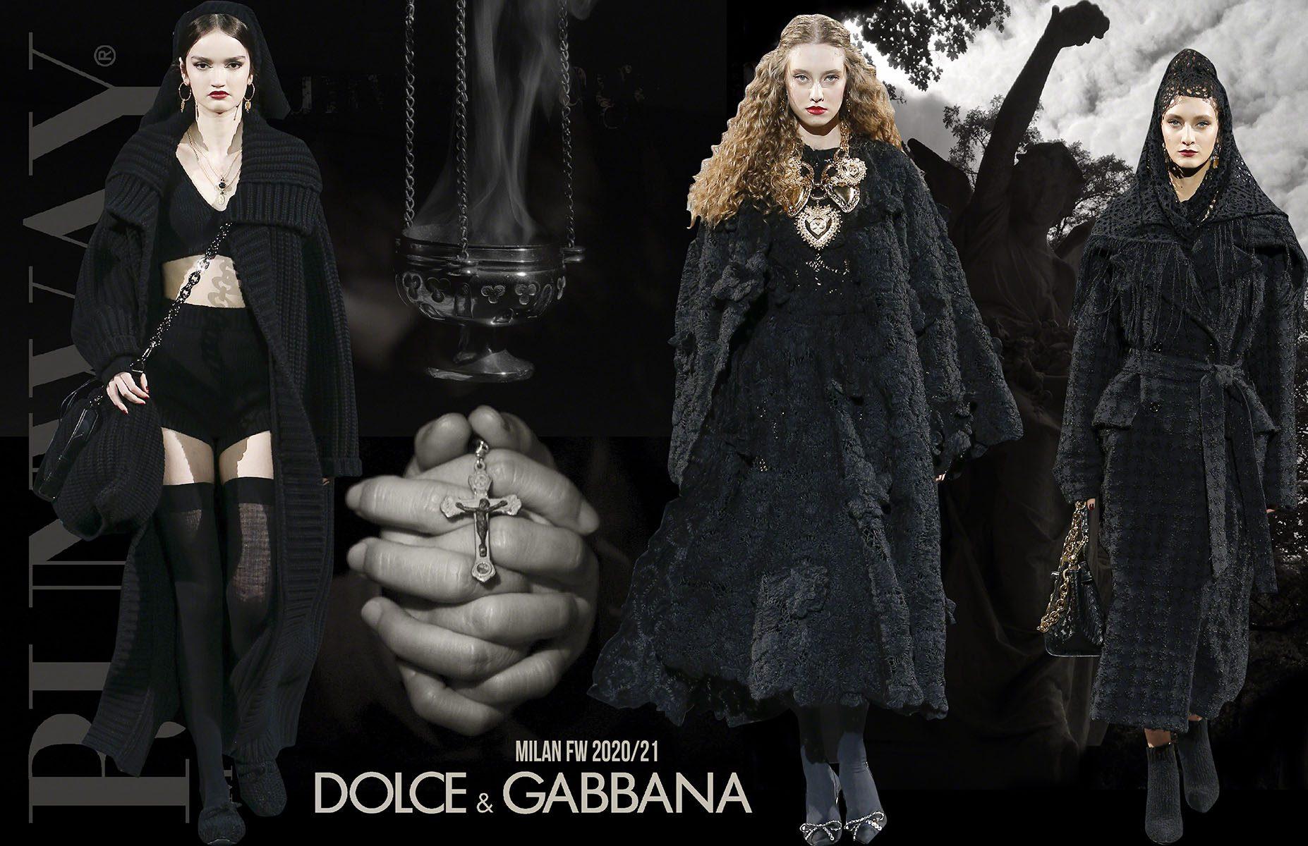 DOLCE GABBANA Fall-Winter 2020-2021 Milan by RUNWAY MAGAZINE