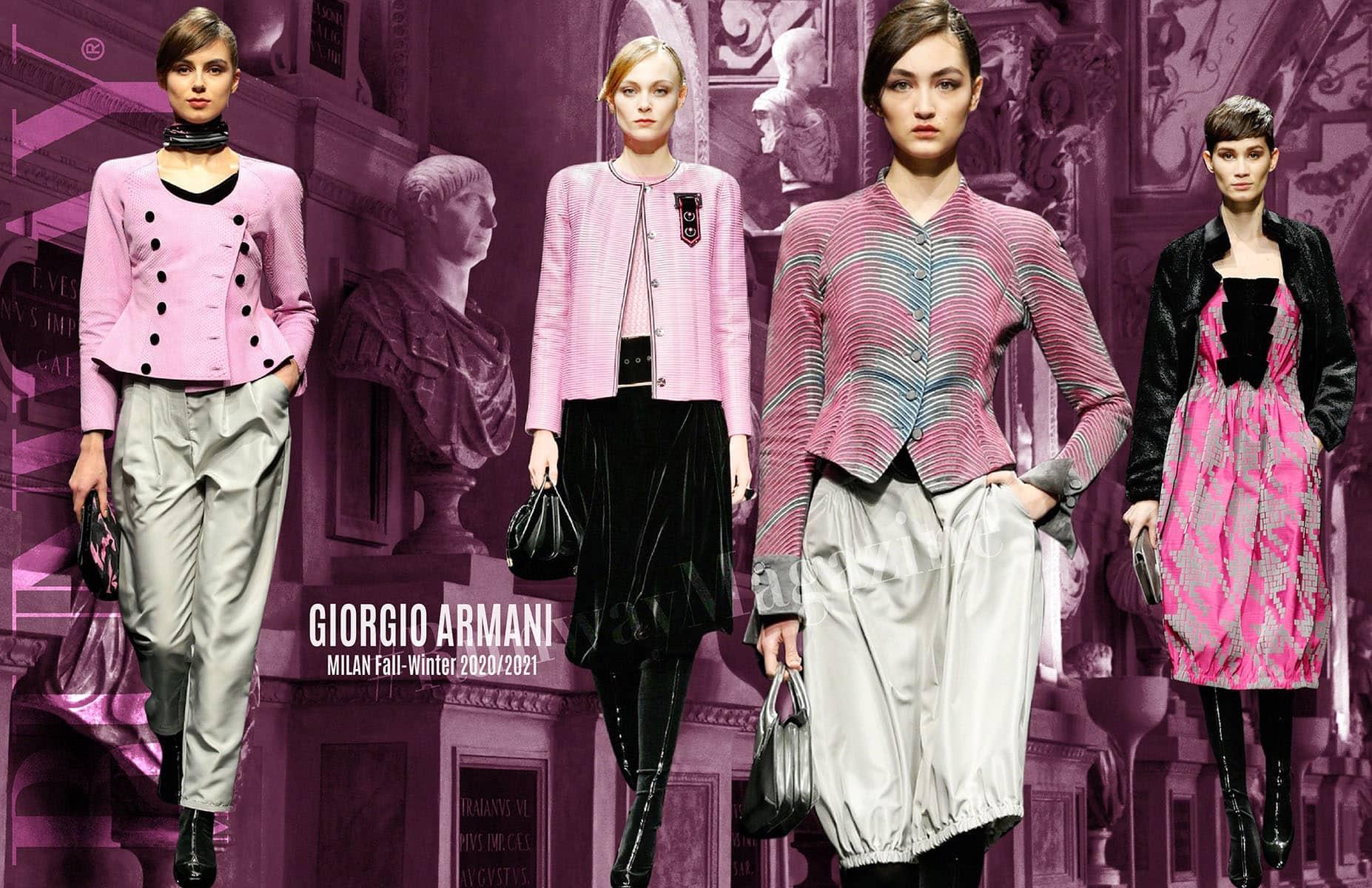 Giorgio Armani Fall-Winter 2020-2021 Milan by RUNWAY MAGAZINE