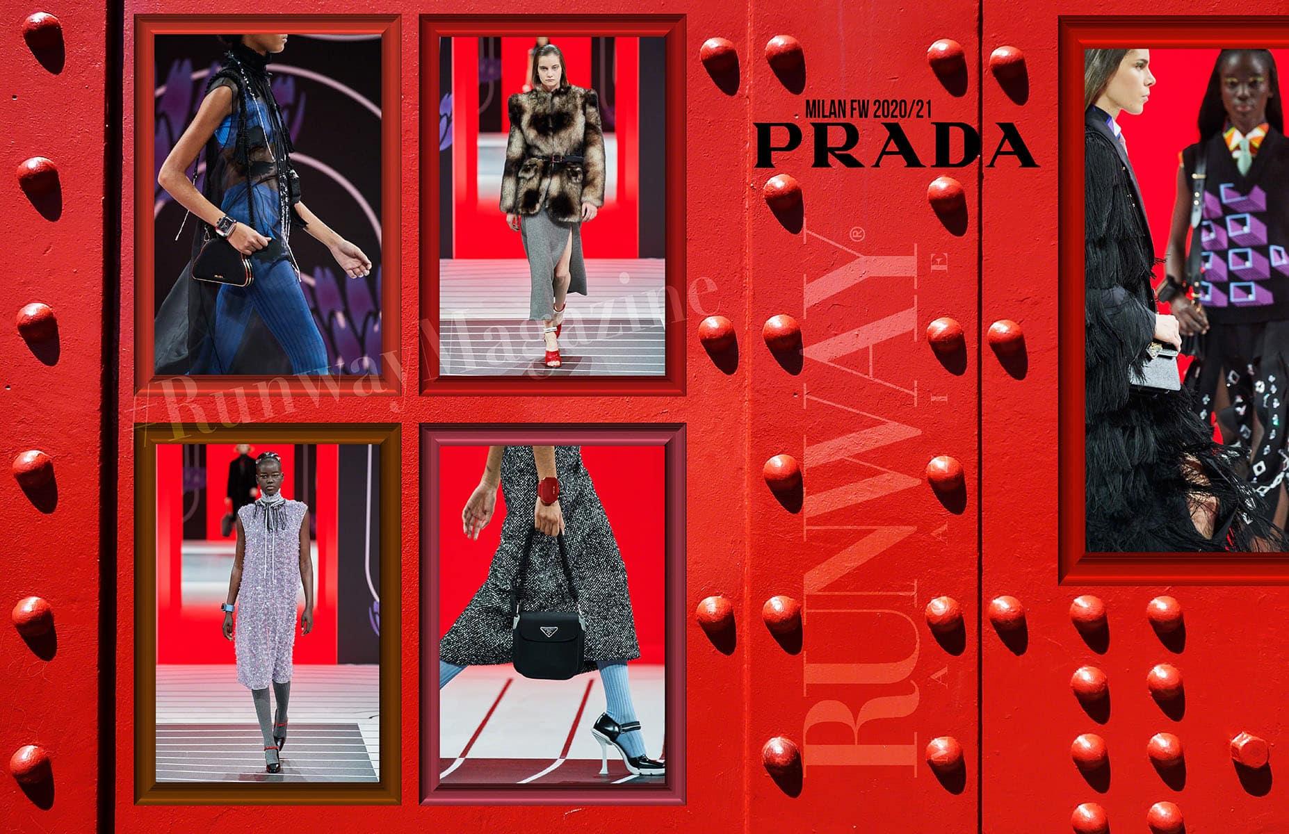 PRADA Fall-Winter 2020-2021 Milan by RUNWAY MAGAZINE