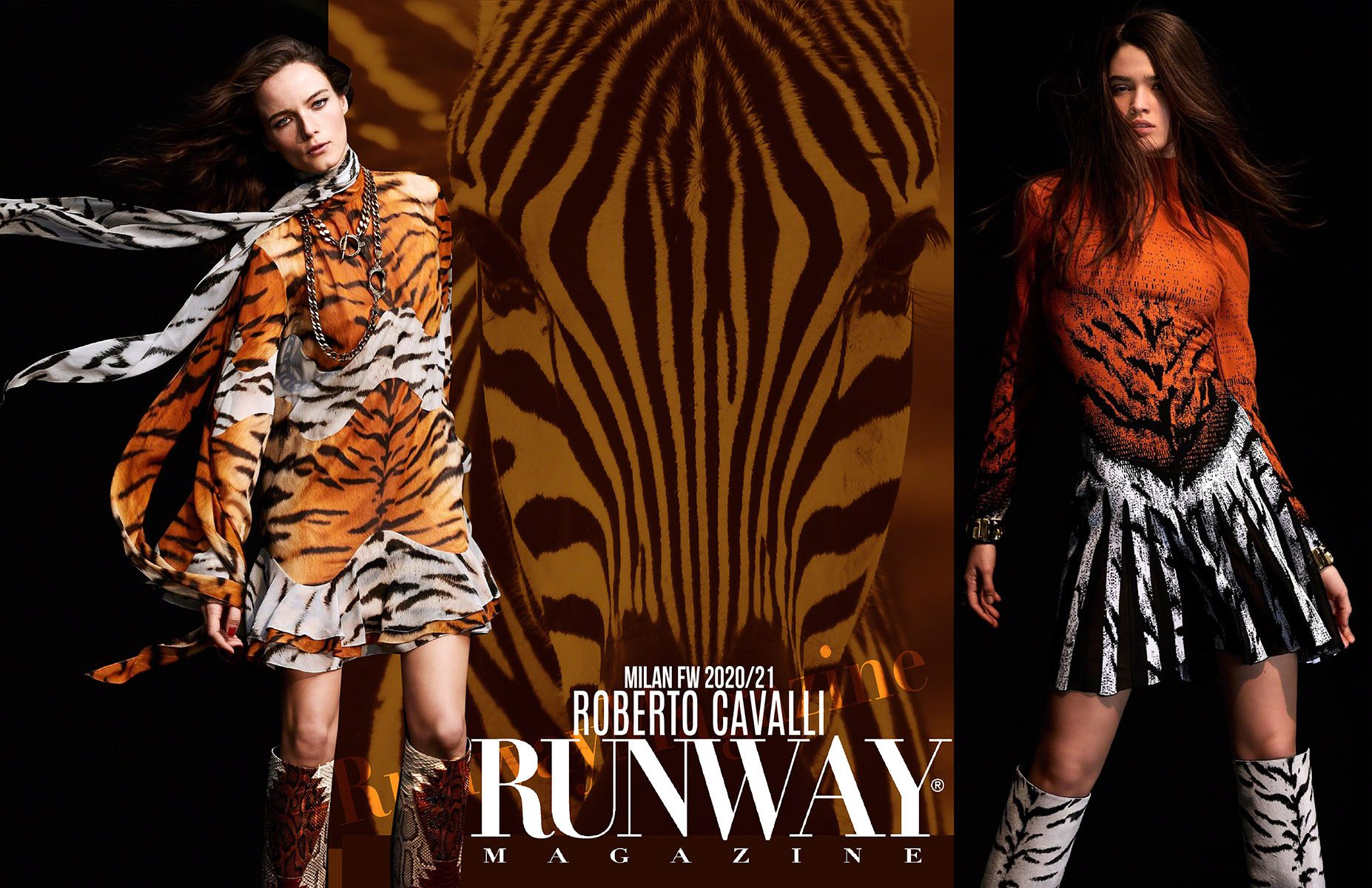 ROBERTO CAVALLI Fall-Winter 2020-2021 Milan by RUNWAY MAGAZINE
