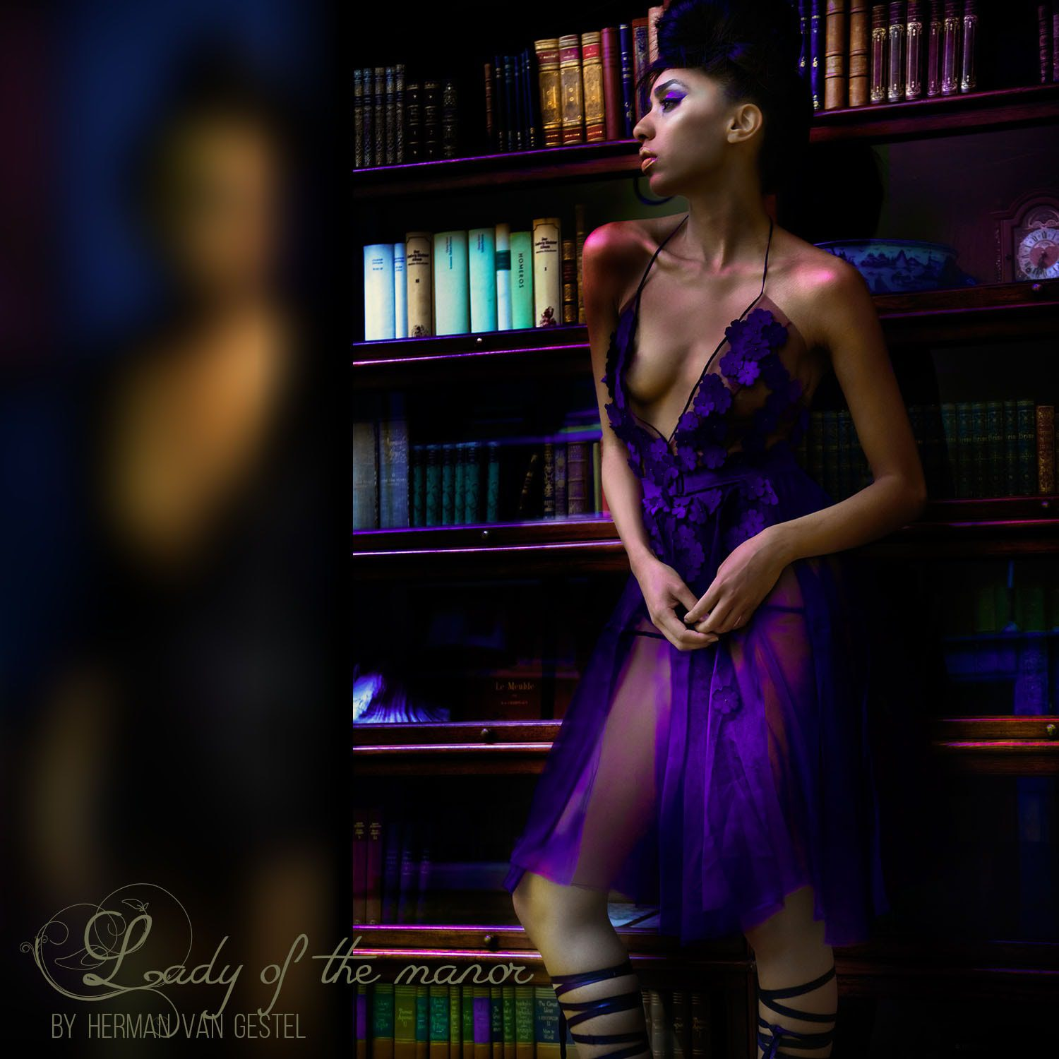 Herman van Gestel photography 2020. Lady of the manor fashion editorial
