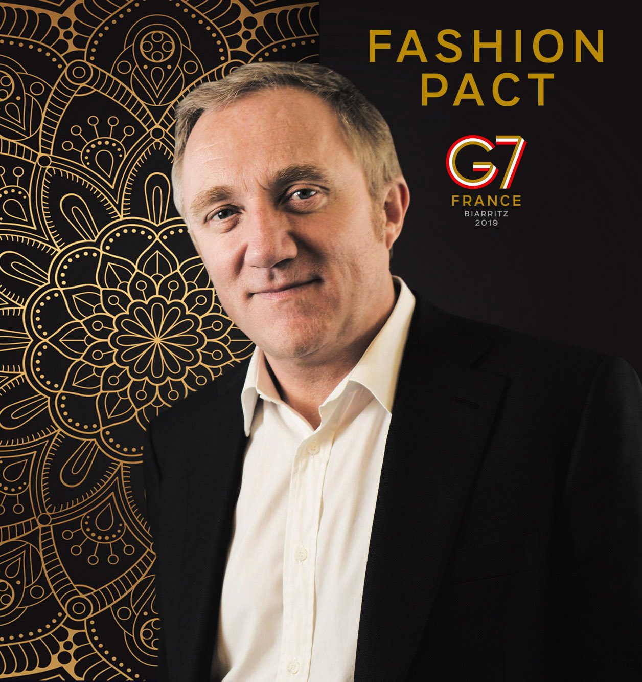 Francois Henri Pinault - Fashion Pact G7 Biarritz 2019 - feature of luxury