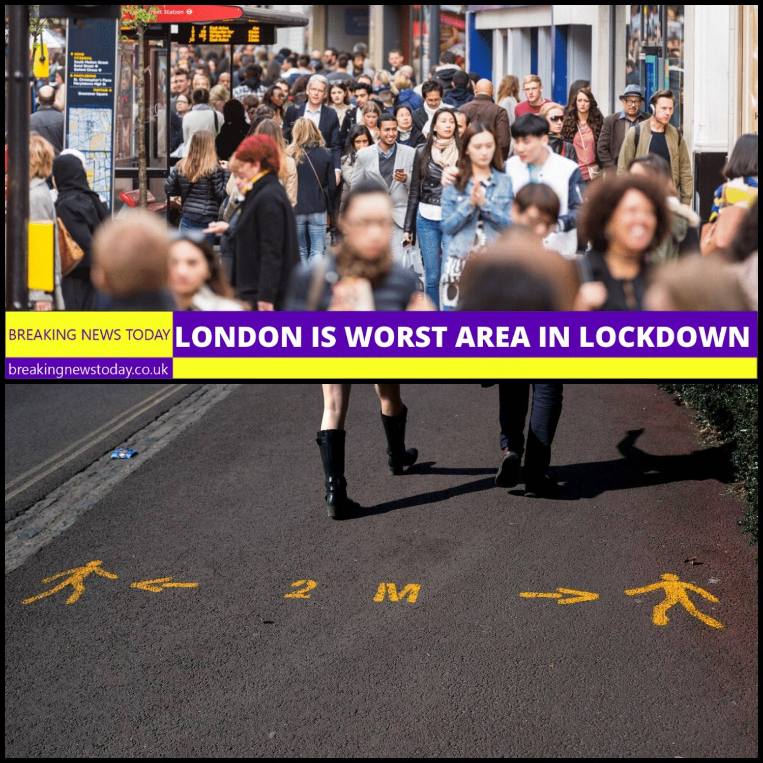 London ignores social distancing and lockdown stay home Ester weekend