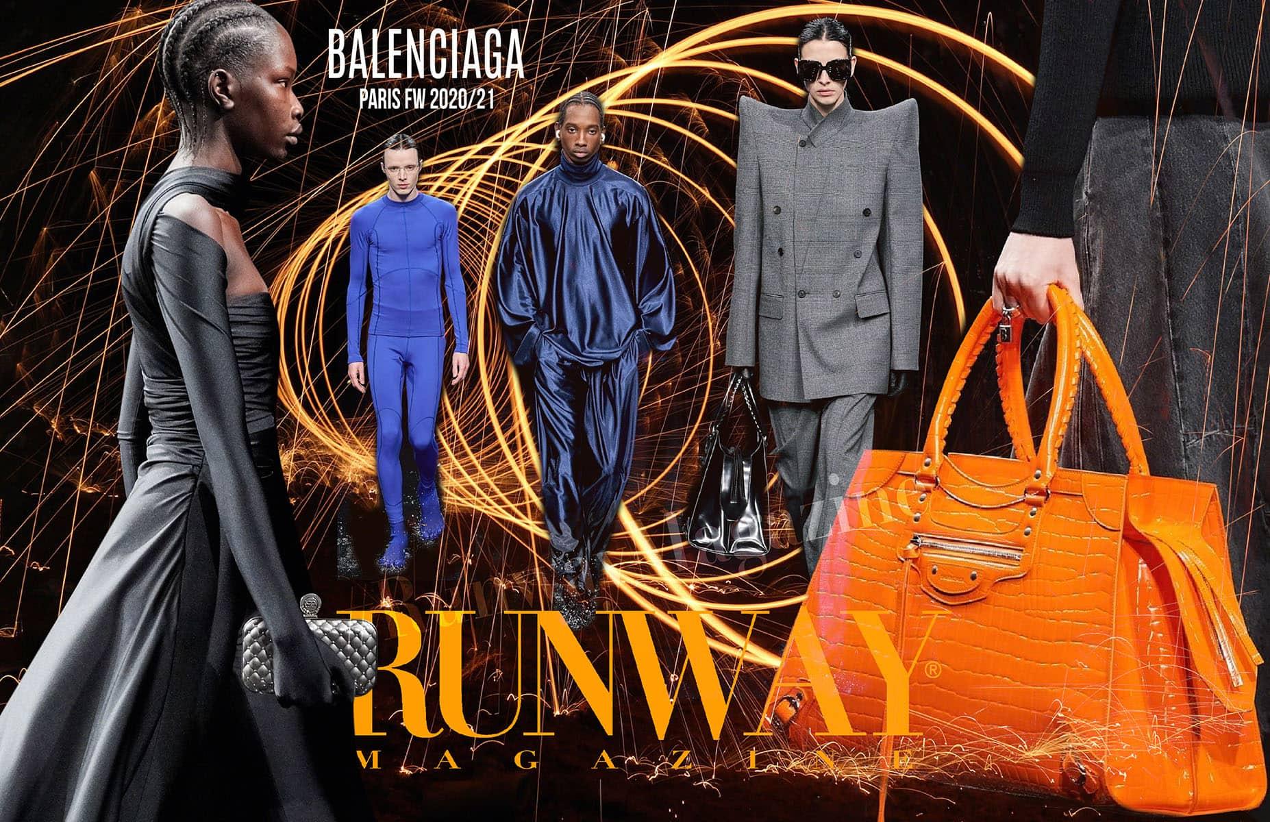 BALENCIAGA Fall-Winter 2020-2021 Paris by RUNWAY MAGAZINE