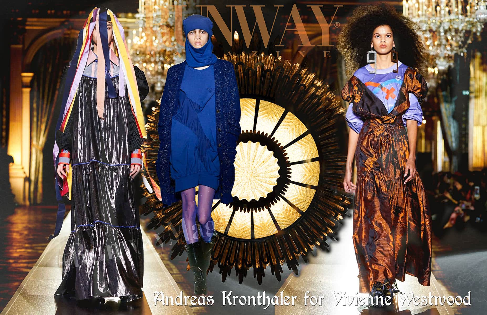 Andreas Kronthaler for Vivienne Westwood Fall-Winter 2020-2021 Paris by RUNWAY MAGAZINE