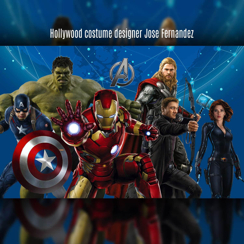 Avengers - Hollywood costume designer Jose Fernandez