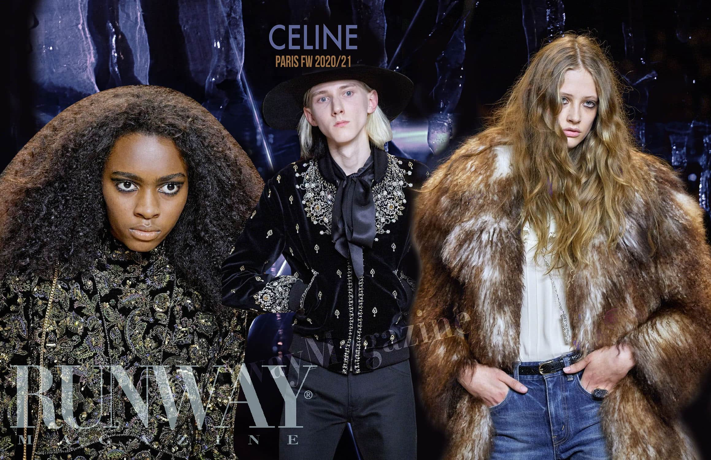 CELINE Fall-Winter 2020-2021 Paris by RUNWAY MAGAZINE