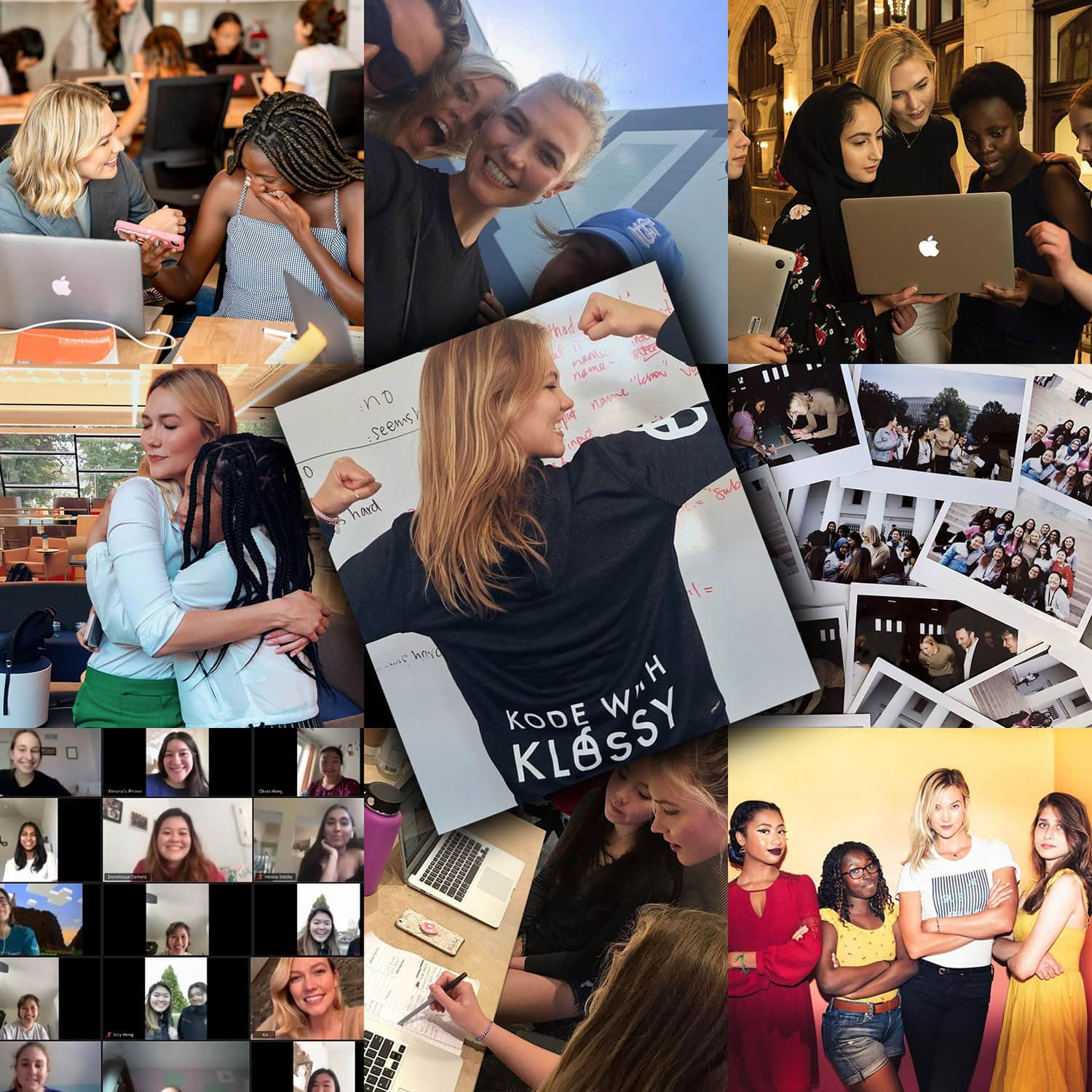 Karlie Kloss and Kode with Klossy - free camp for girls