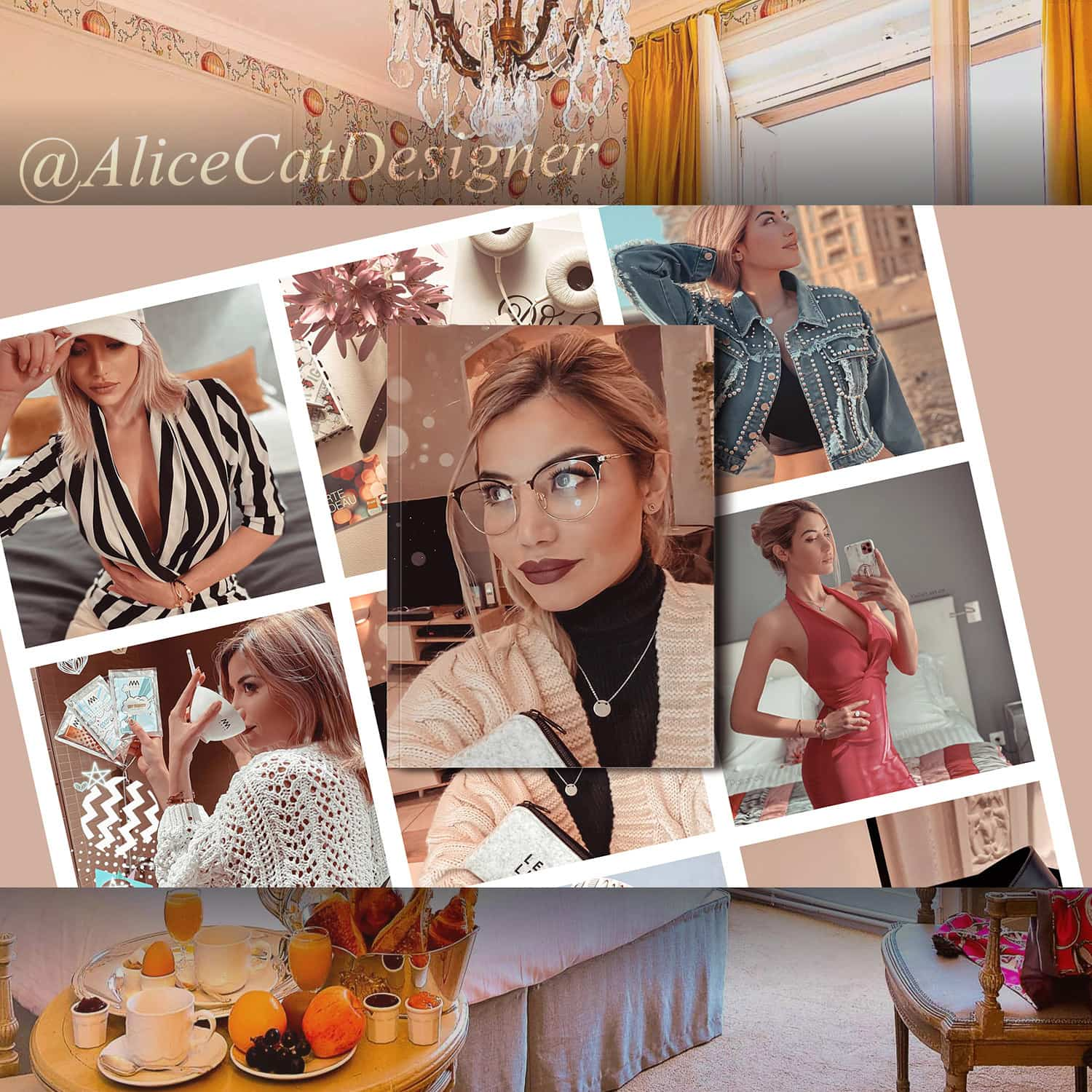 Influencer Alice Cathelineau @AliceCatDesigner launches Instagram training