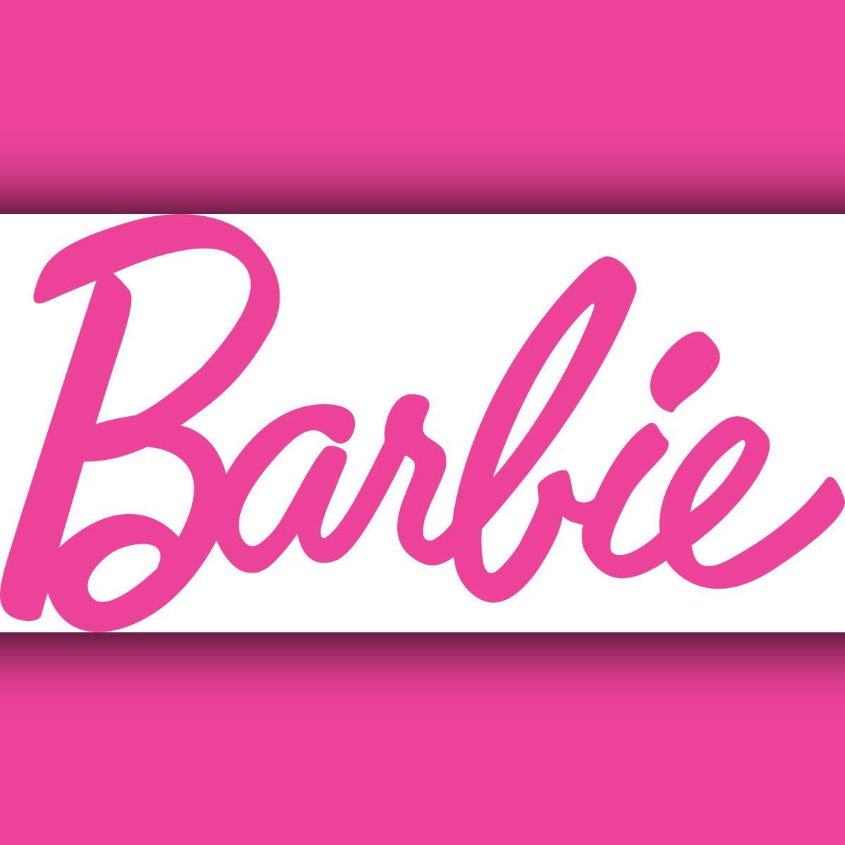 Barbie doll logo