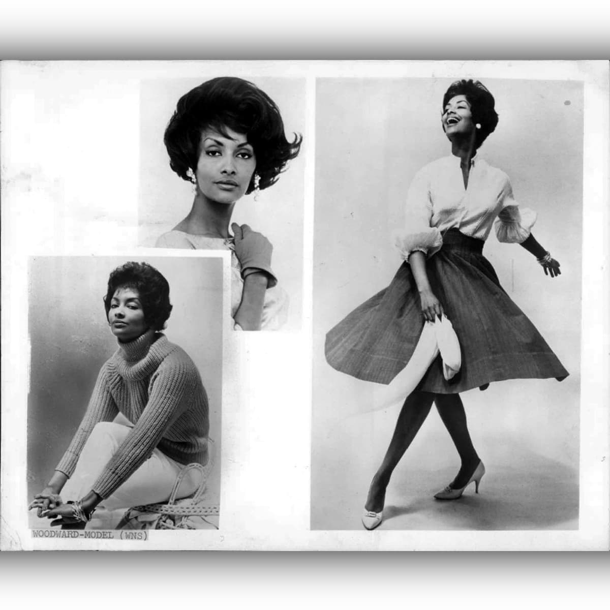 Helen Williams First African-American model