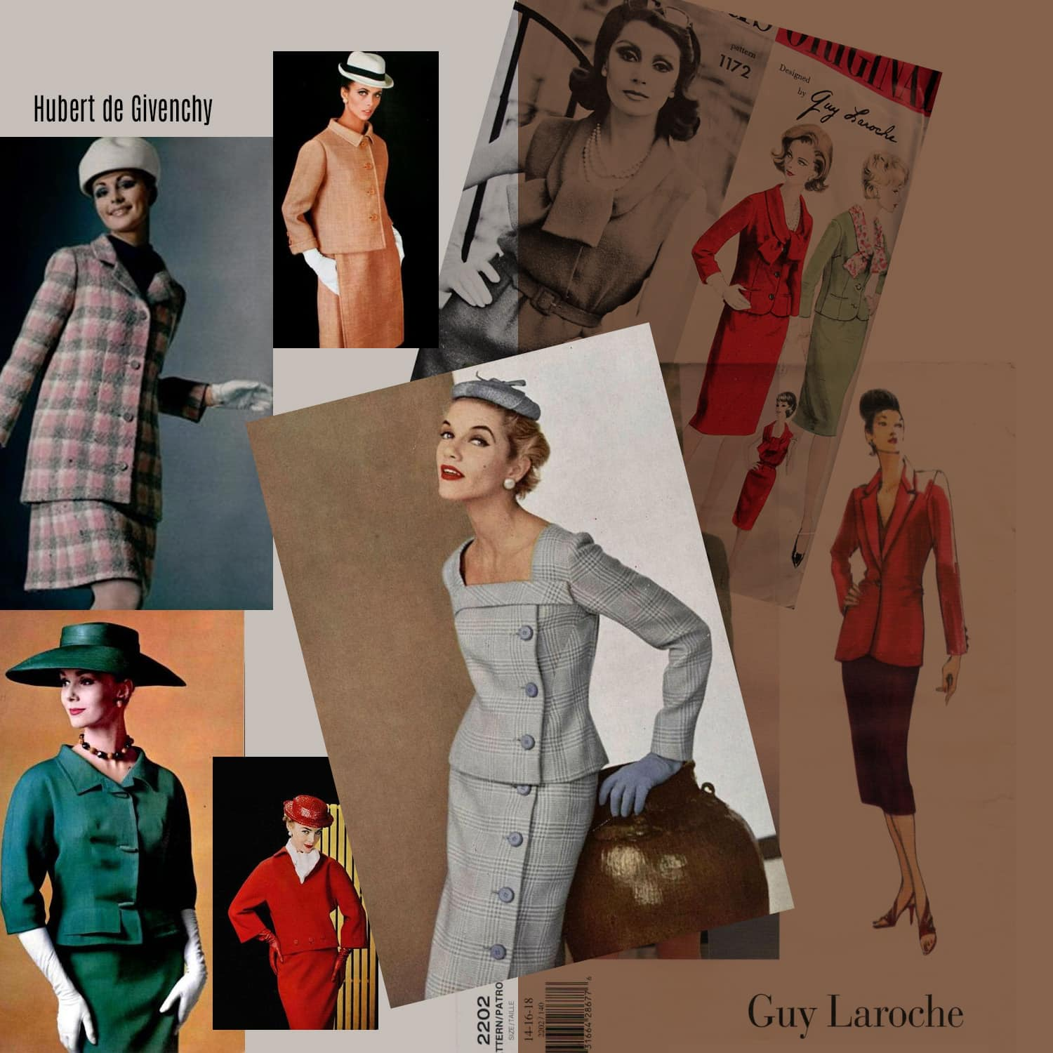 Hubert de Givenchy and Guy Laroche - designing elegance for business women