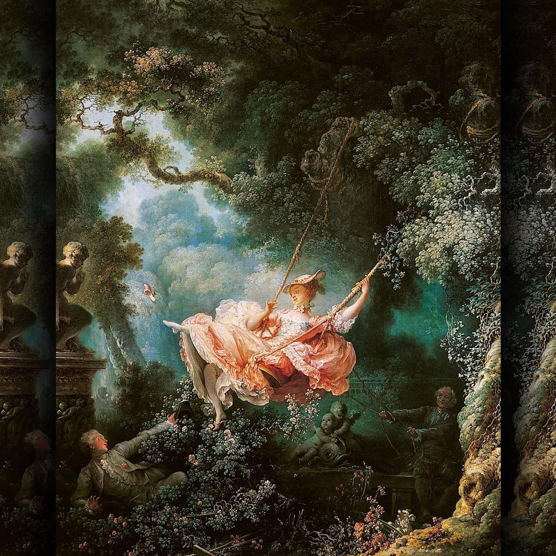 Jean Honore Fragonard - La balançoire - 1757