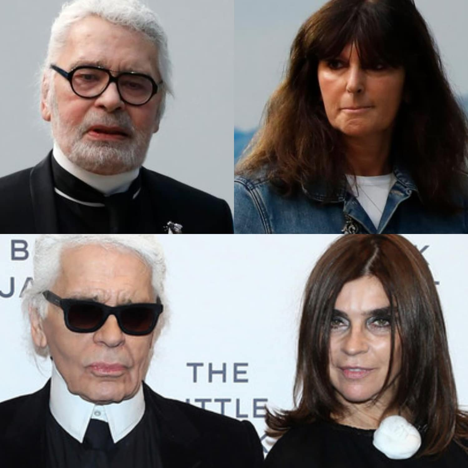 Karl Lagerfeld Heritage to Virginie Viard (Artistic Director at Chanel) and Carine Roitfeld (Style Adviser at Karl lagerfeld)