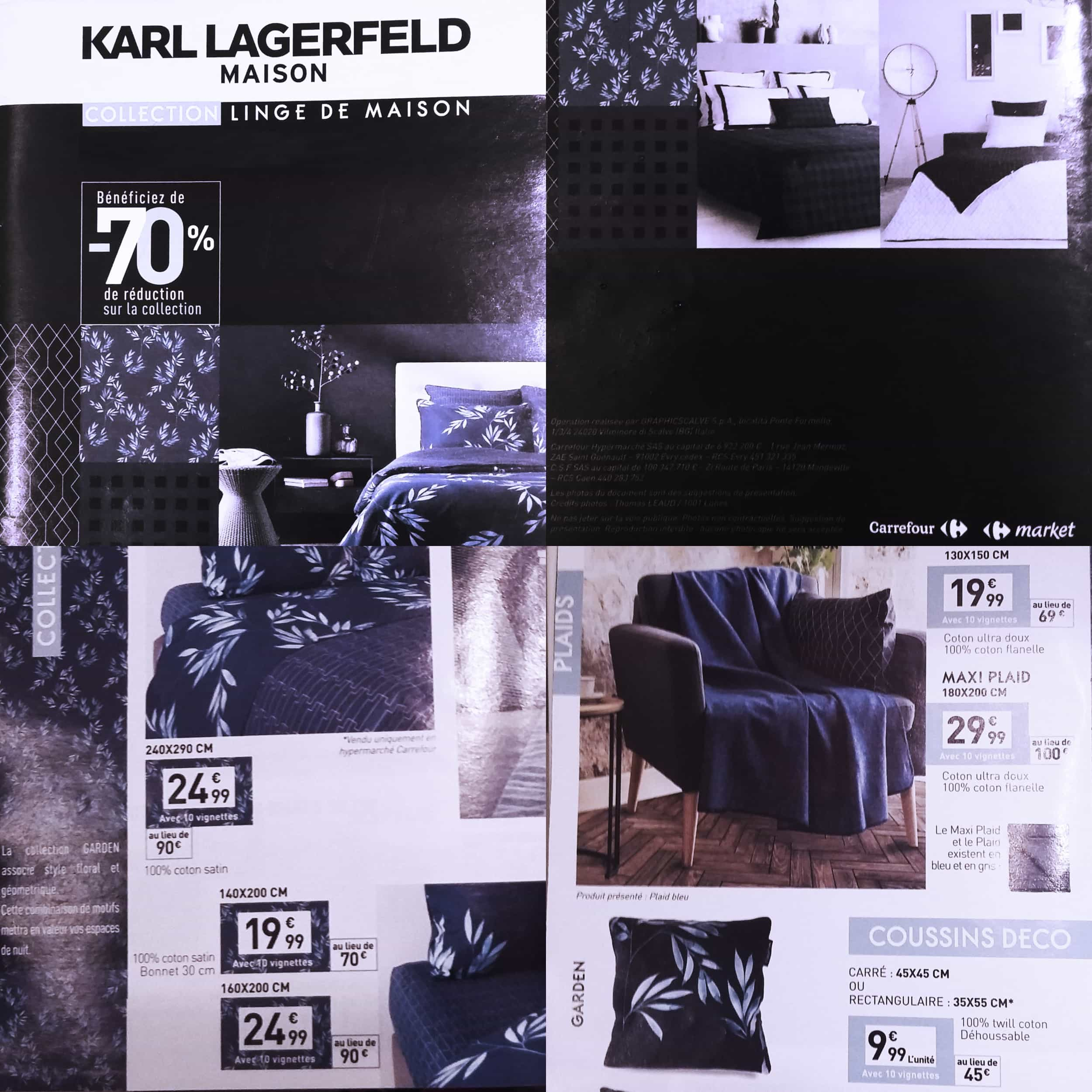 Karl Lagerfeld Maison collection in Carrefour