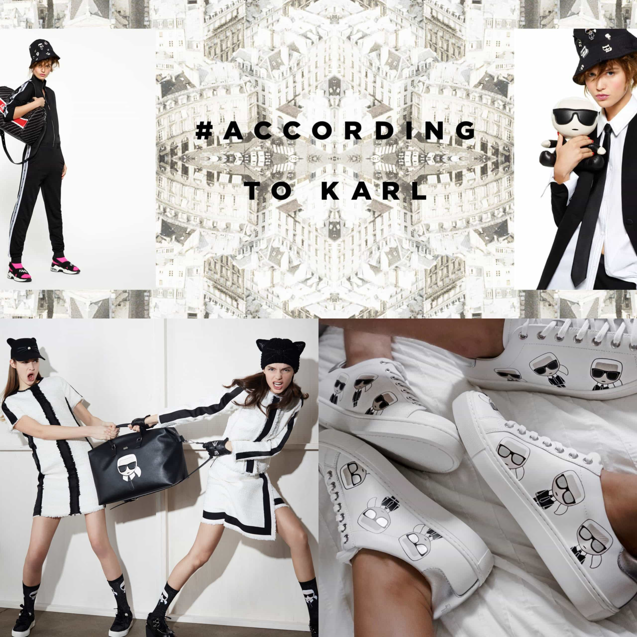 Last collection of Karl Lagerfeld for his own brand for Summer 2019