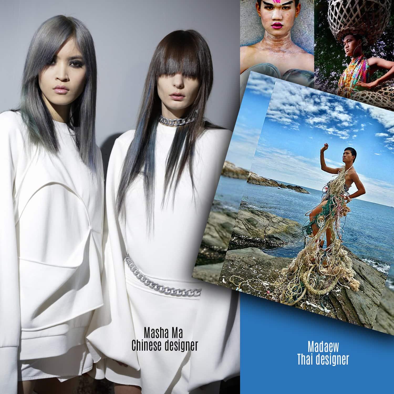 Masha Ma, Chinese designer and Madaew, Thai designer