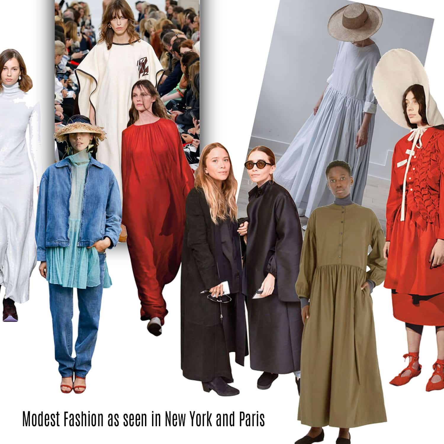 Modest Fashion as seen in New York and Paris