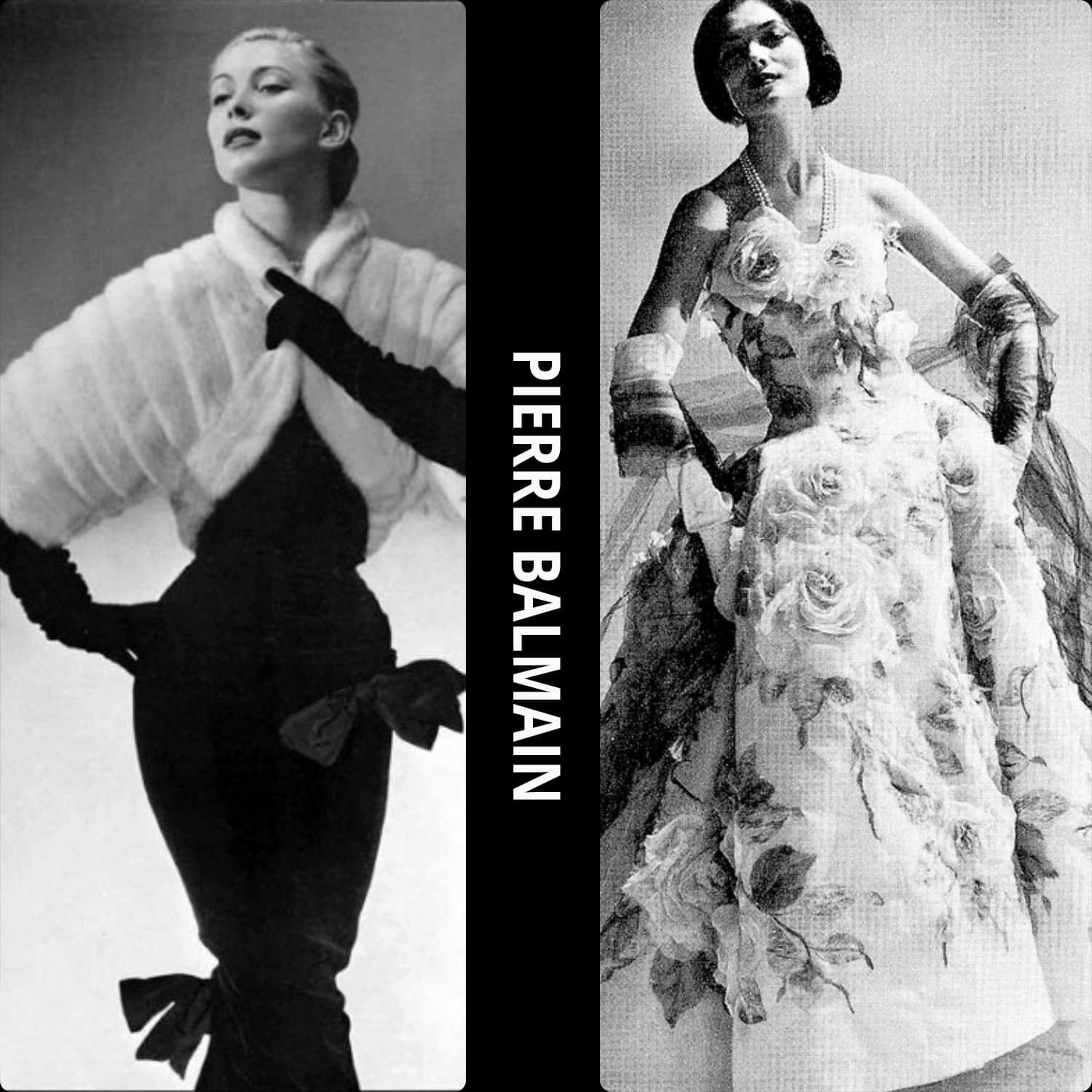 Pierre Balmain most known pieces