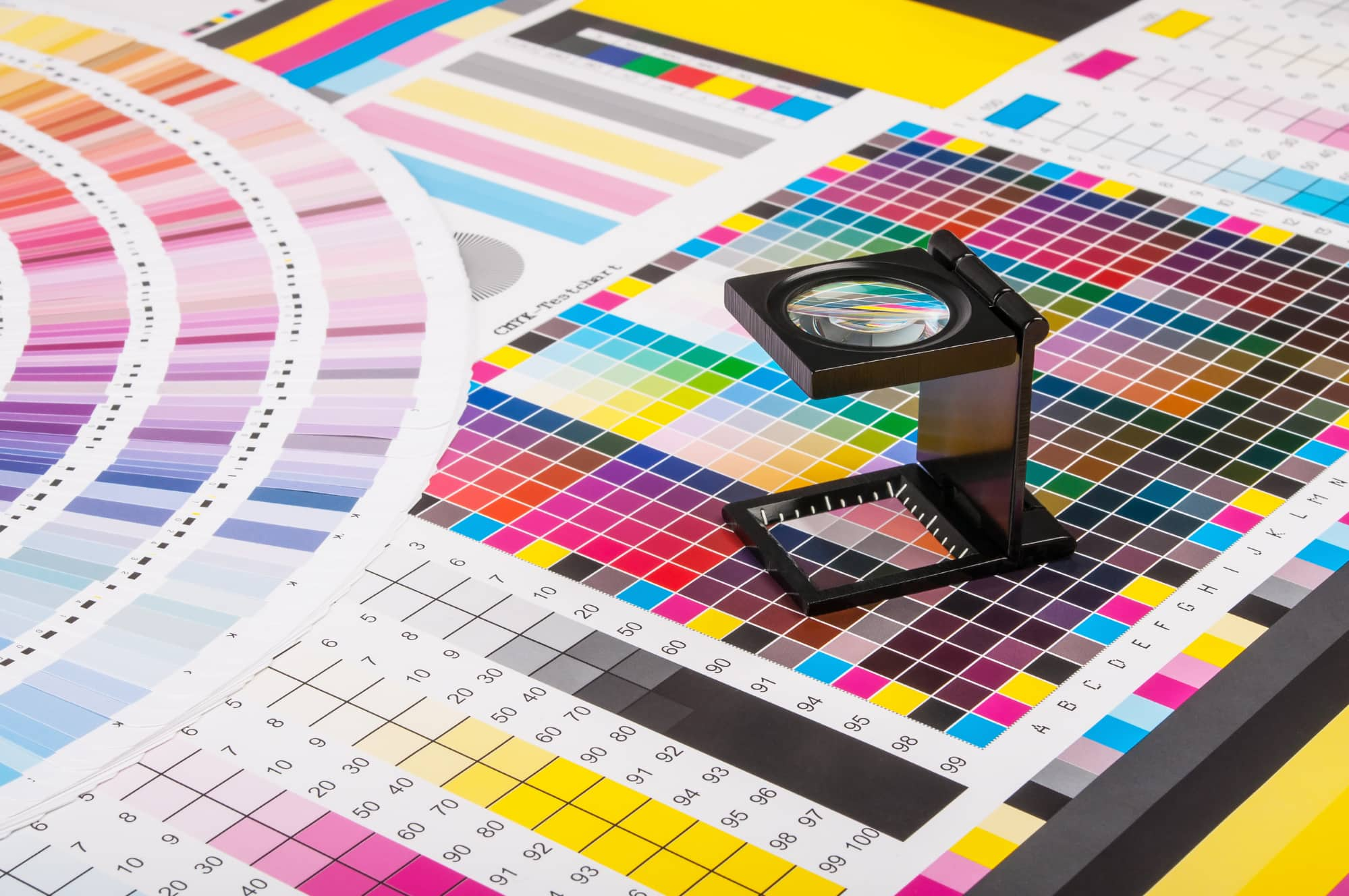 Color charts for print and reproduction