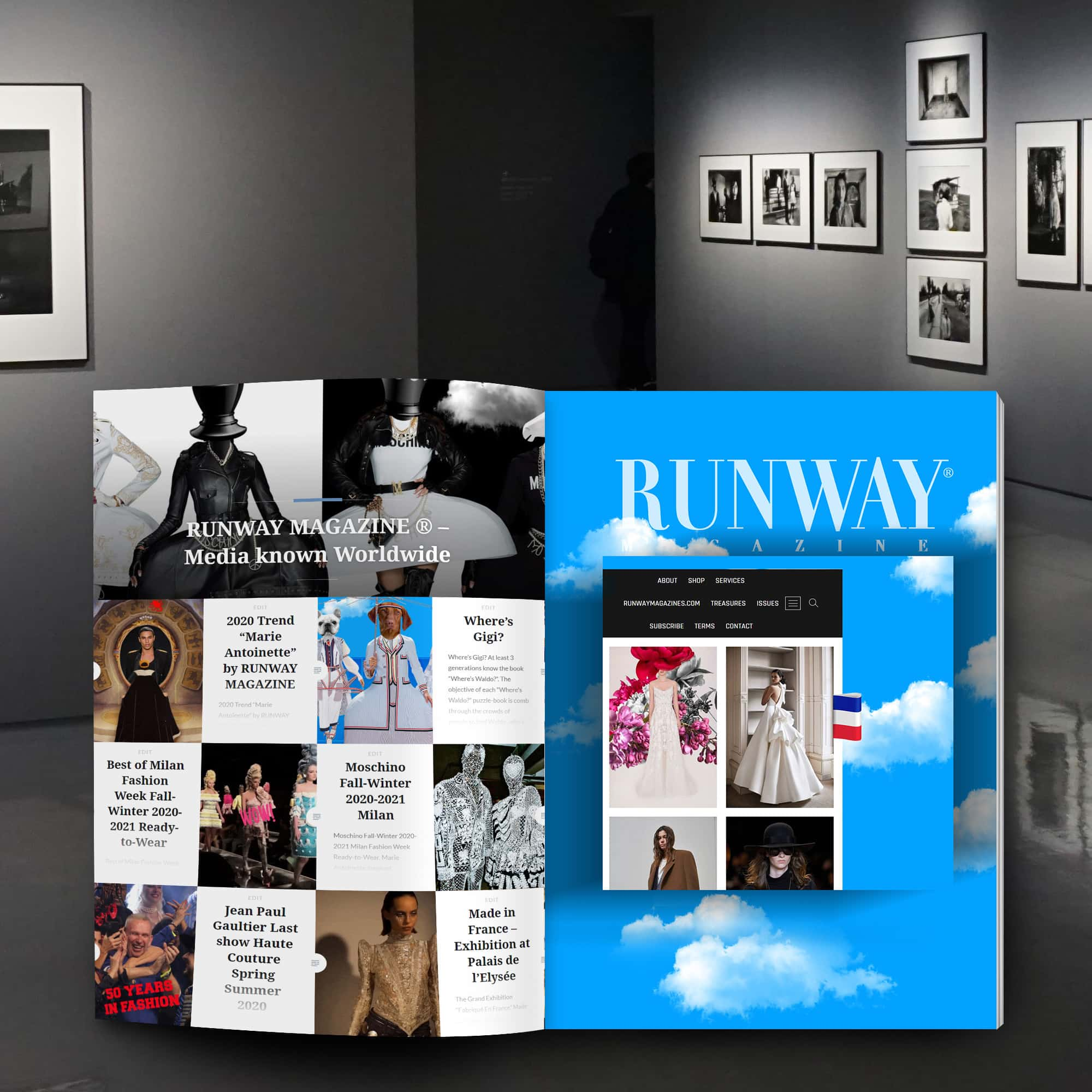 RUNWAY MAGAZINE ® - International Twofold Media connu dans le monde entier