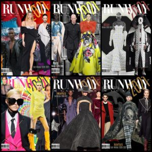 RUNWAY MAGAZINE covers 2021 issues - READ MORE