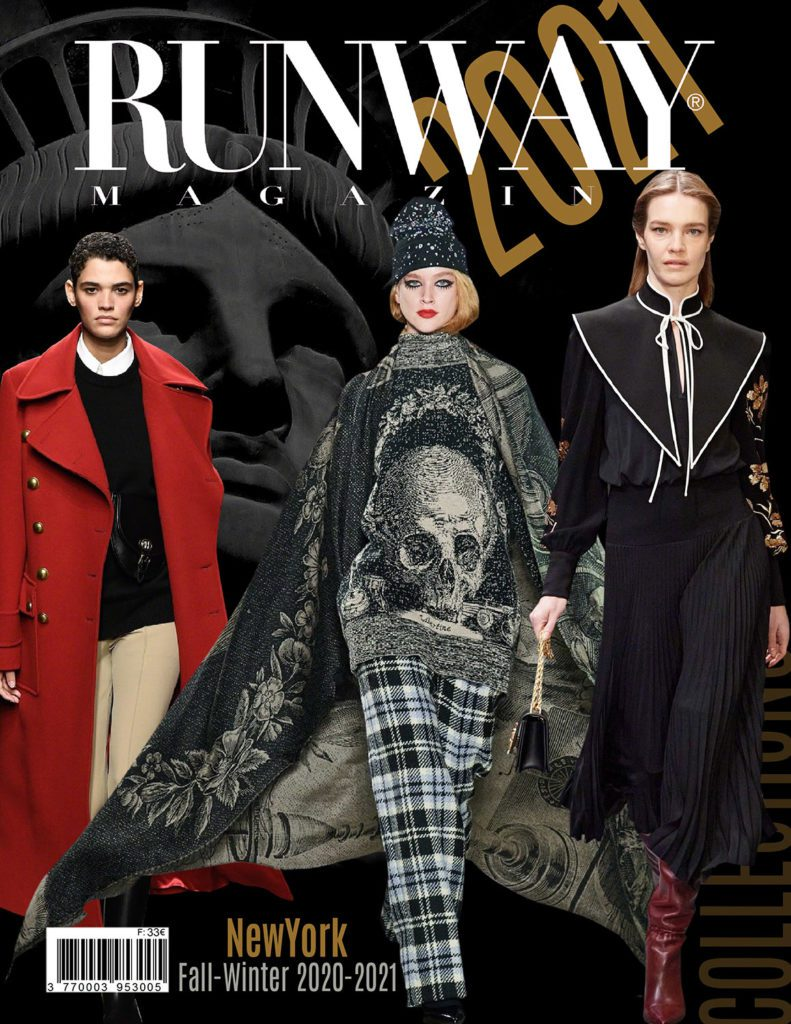 RUNWAY Magazine 2021 issue - Collections New York automne-hiver 2020-2021