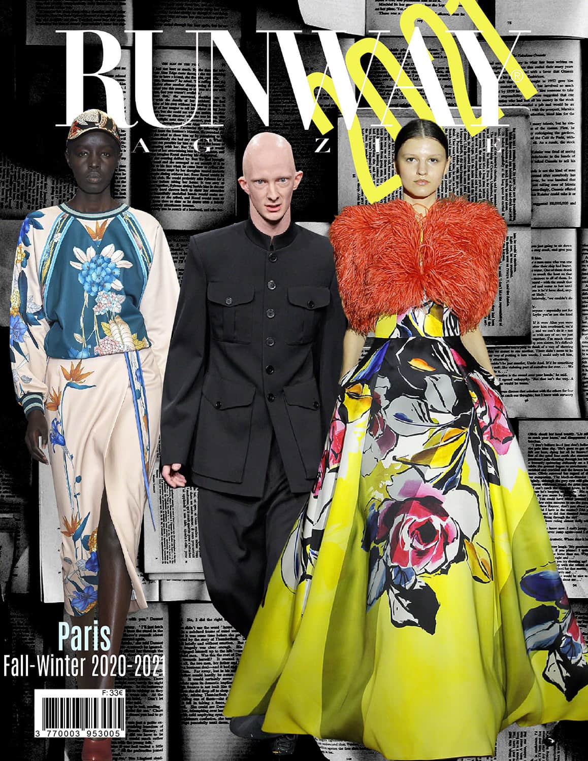 RUNWAY Magazine 2021 issue - Fall-Winter 2020-2021 Paris collections