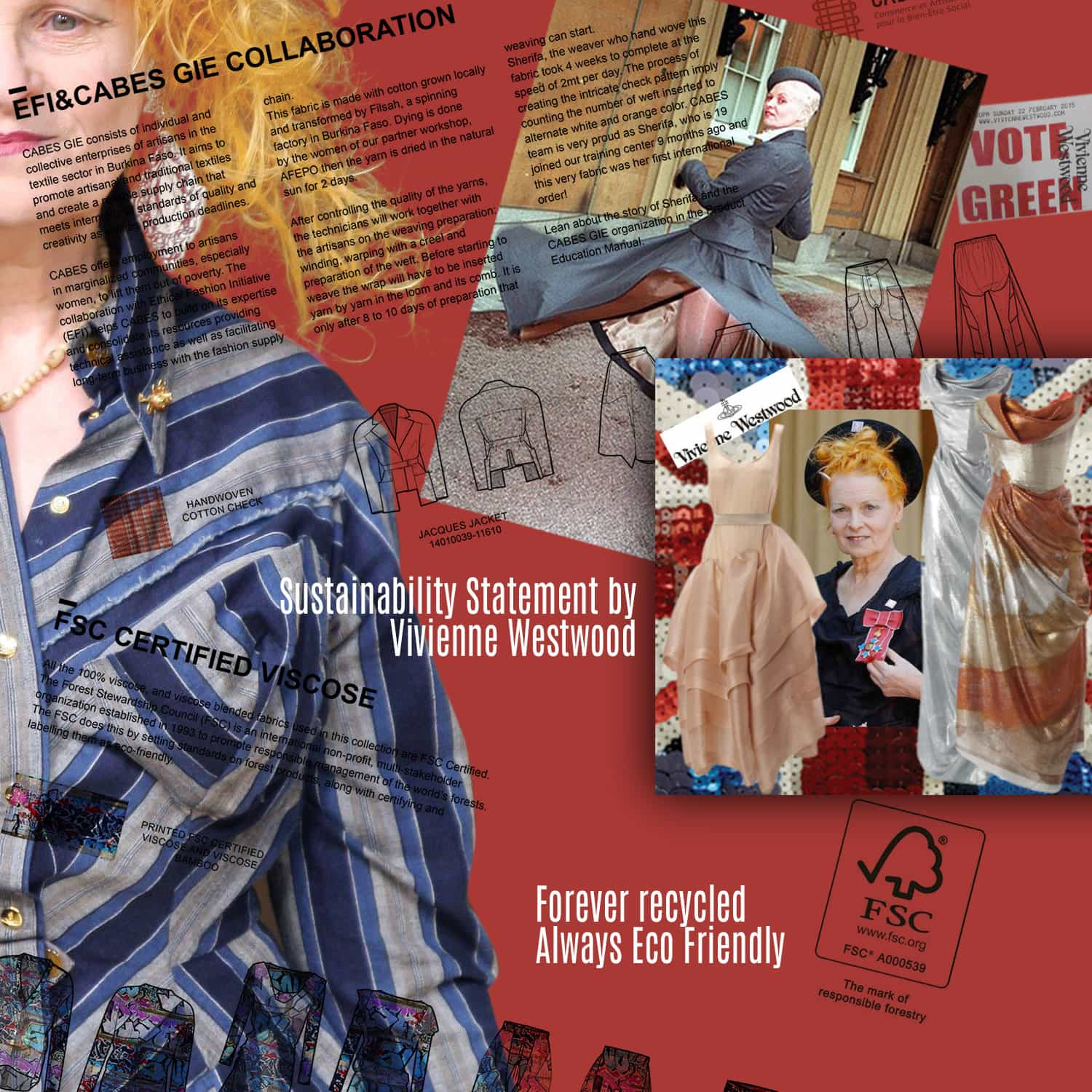 Sustainability Statement by Vivienne Westwood