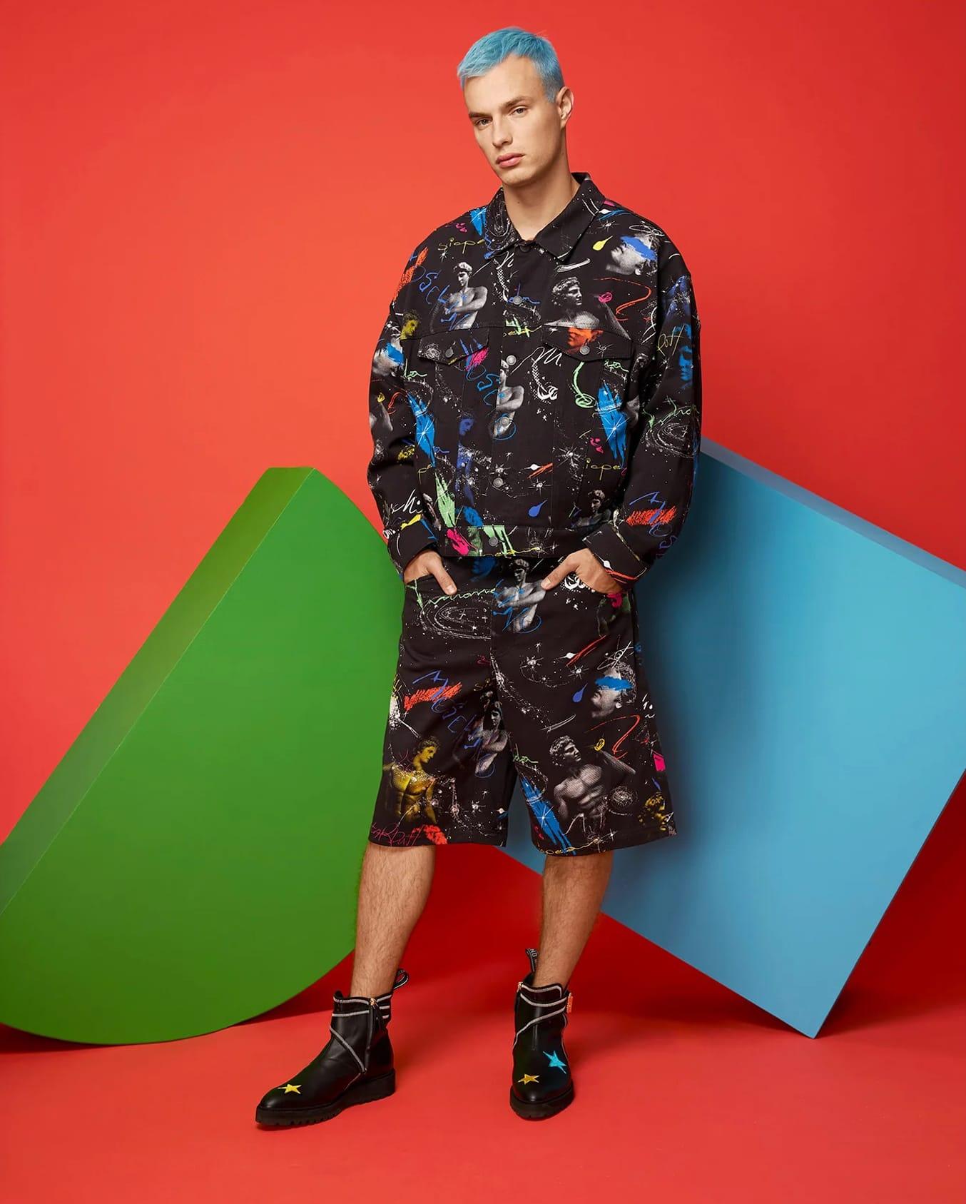 Moschino Spring Summer 2021 Men Milan Digital Fashion Week by RUNWAY MAGAZINE