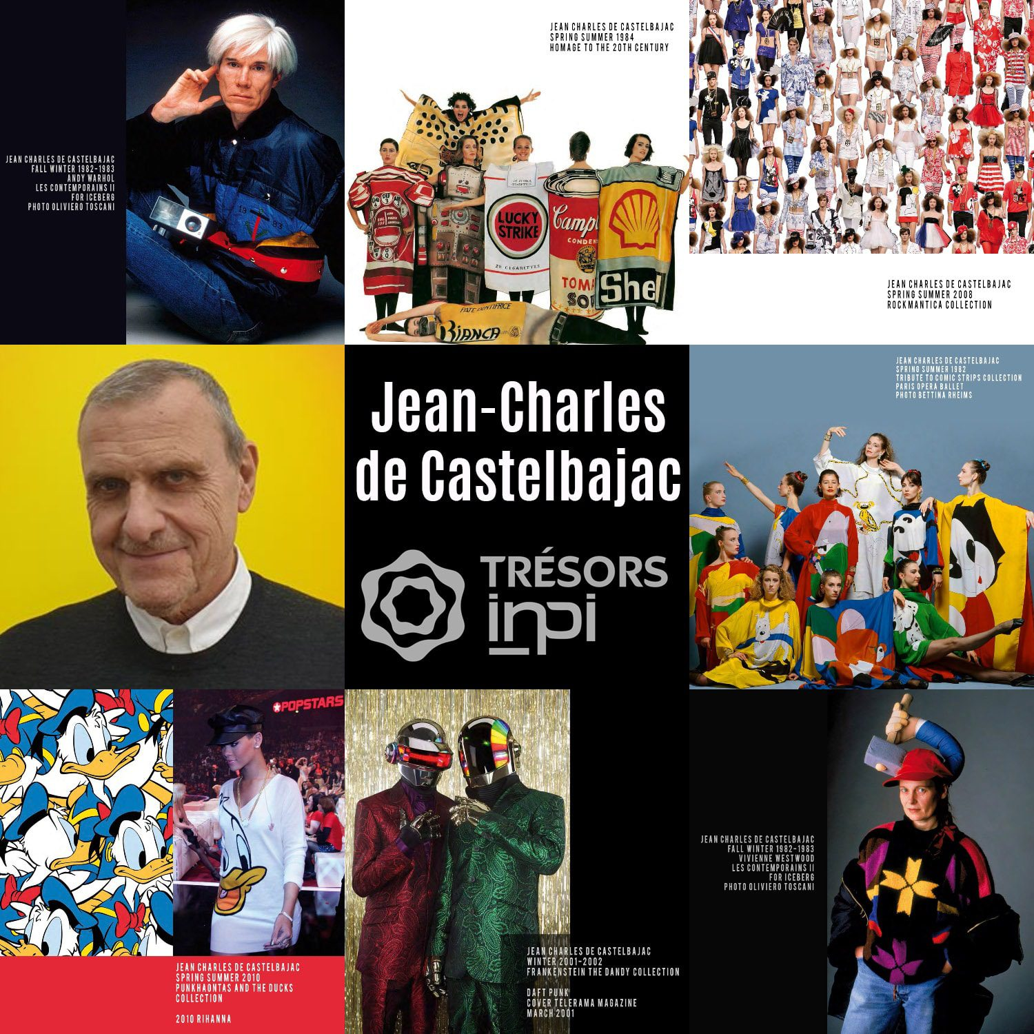 Jean-Charles de Castelbajac Inventions - Treasures INPI by RUNWAY MAGAZINE