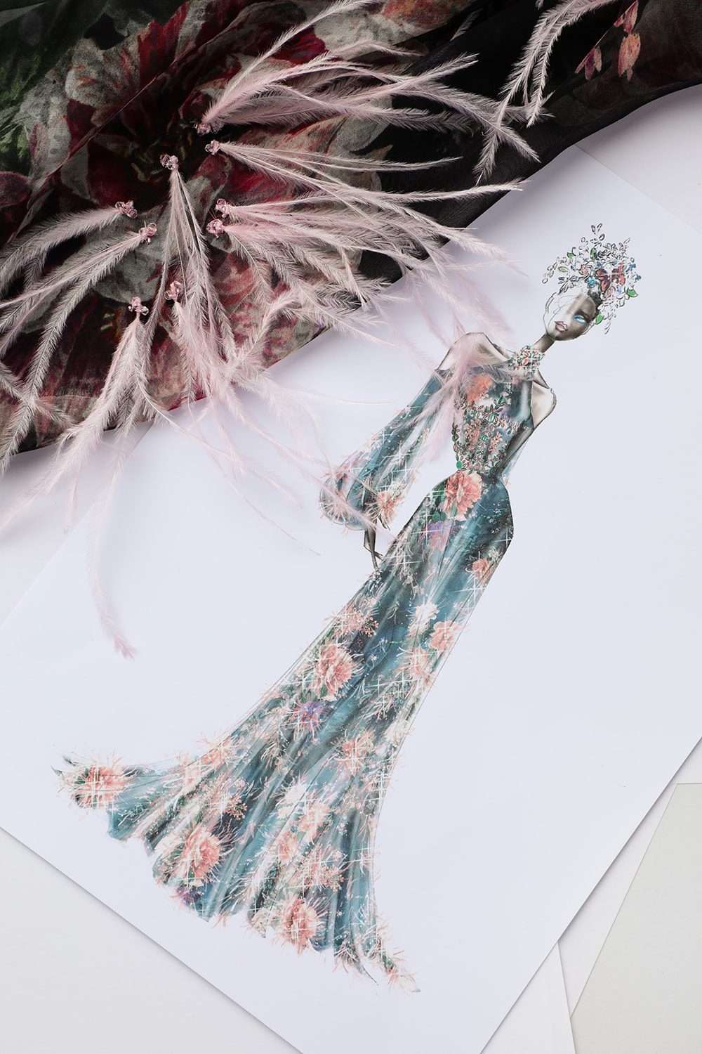 Digital Avatar for Ralph & Russo Haute Couture Fall-Winter 2020-2021 by RUNWAY MAGAZINE