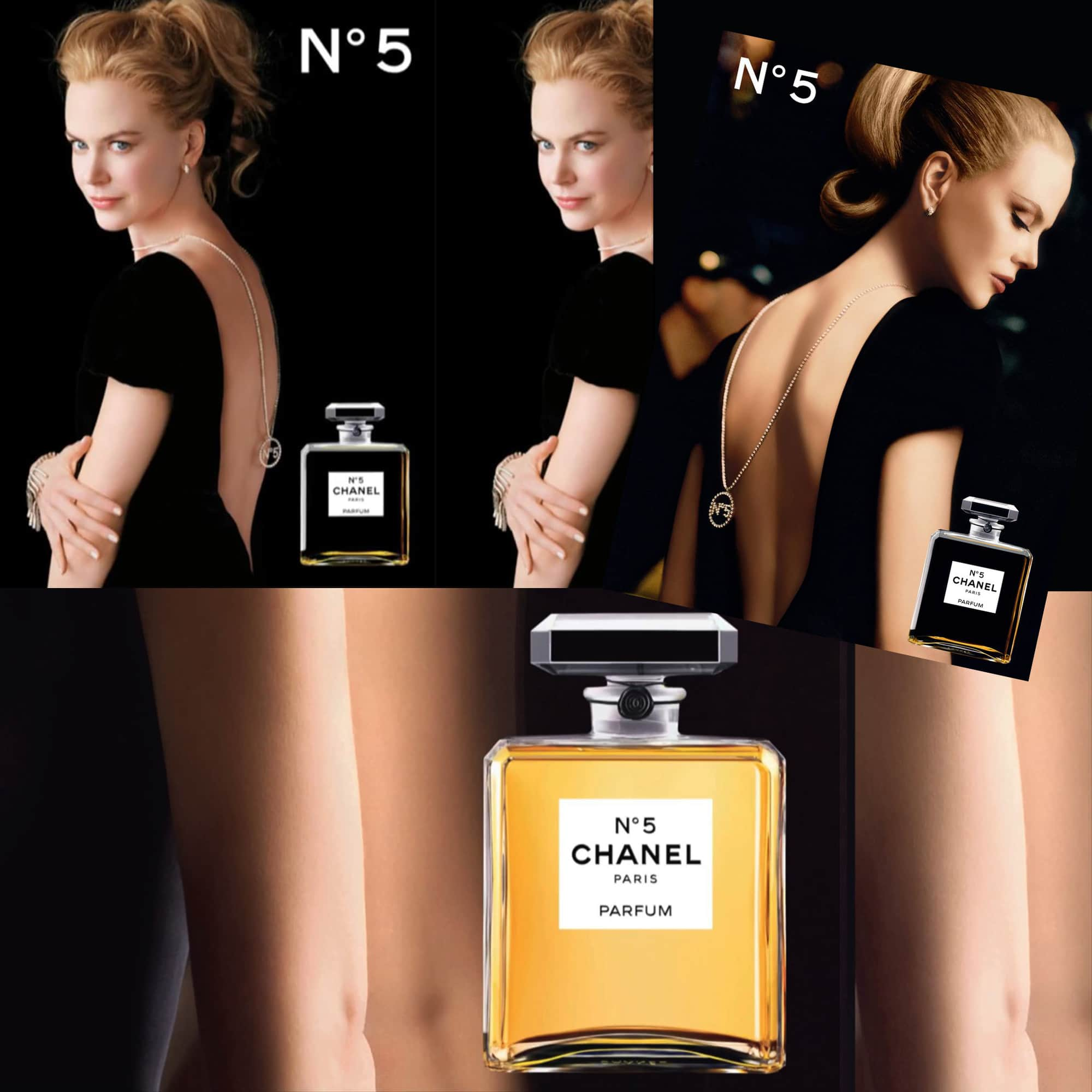 CHANEL 5 perfume - Tresors INPI - Nicole Kidman for CHANEL by RUNWAY MAGAZINE