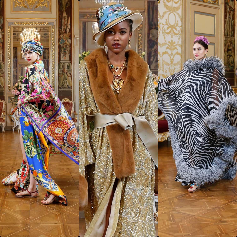 Dolce Gabbana Alta Moda 2020 Digital - virtual catwalk - Fall-Winter 2020-2021 by RUNWAY MAGAZINE