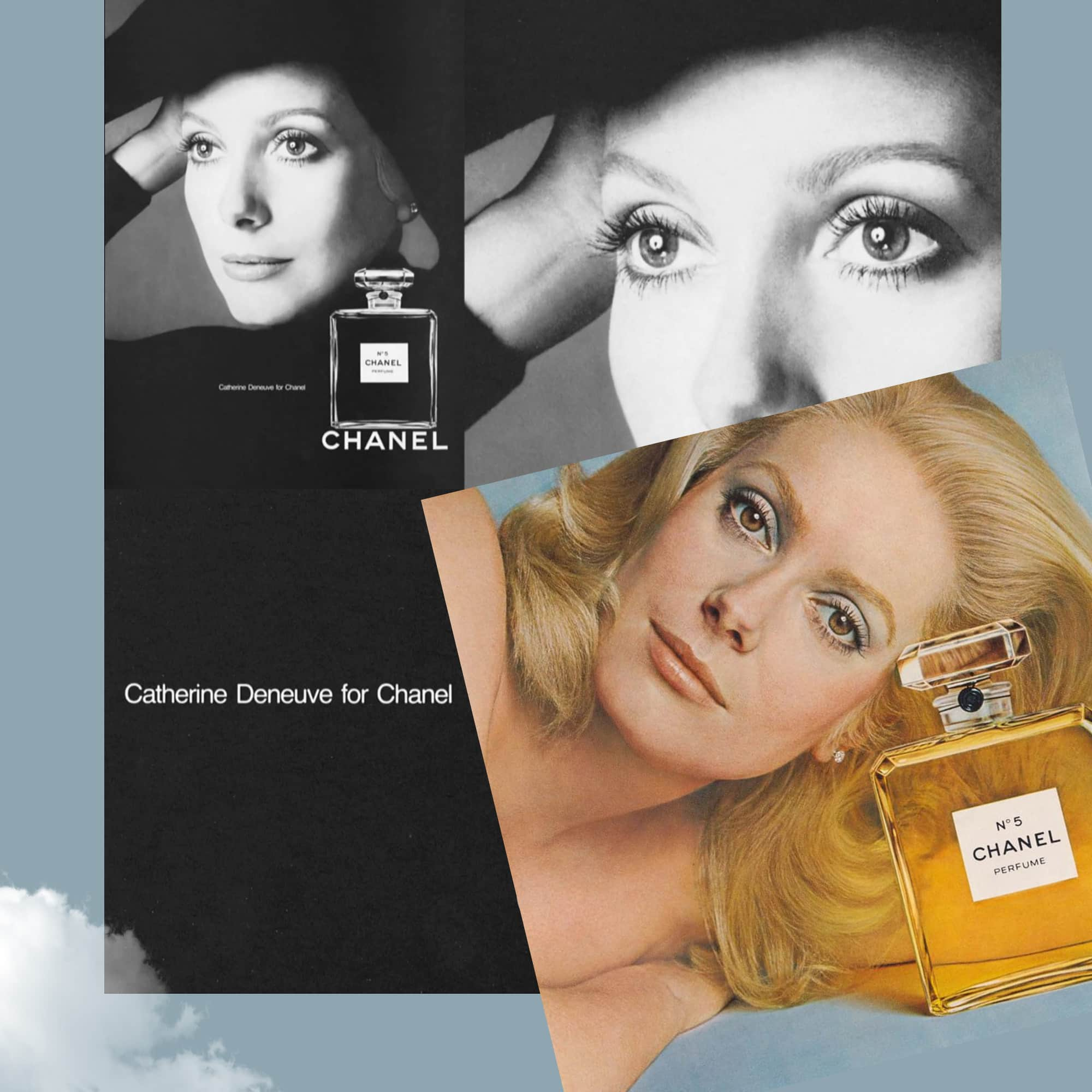CHANEL 5 perfume - Tresors INPI - Catherine Deneuve for CHANEL by RUNWAY MAGAZINE