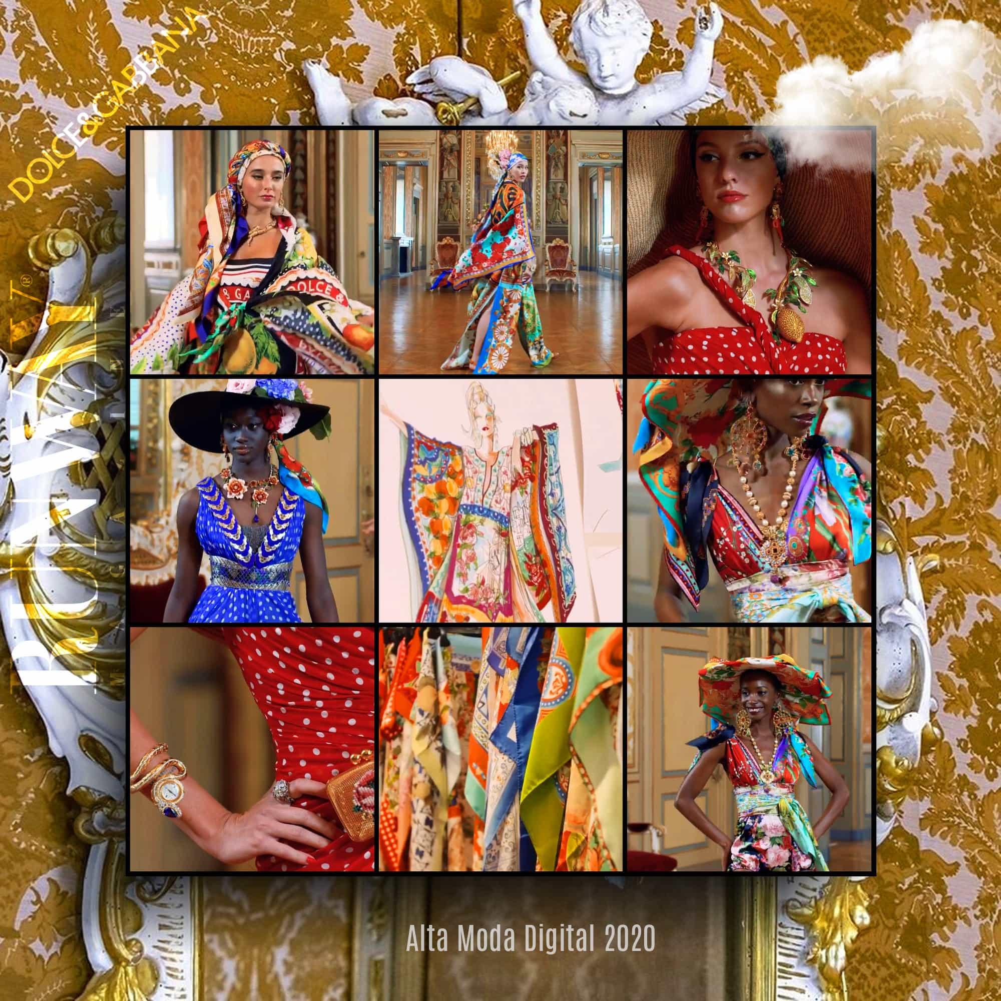 Dolce Gabbana Alta Moda 2020 Digital - Fall-Winter 2020-2021 by RUNWAY MAGAZINE