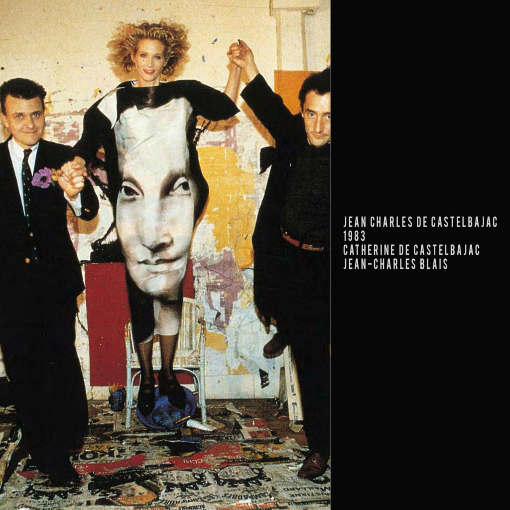 JC de Castelbajac-1983-Catherine de Castelbajac-Jean Charles Blais