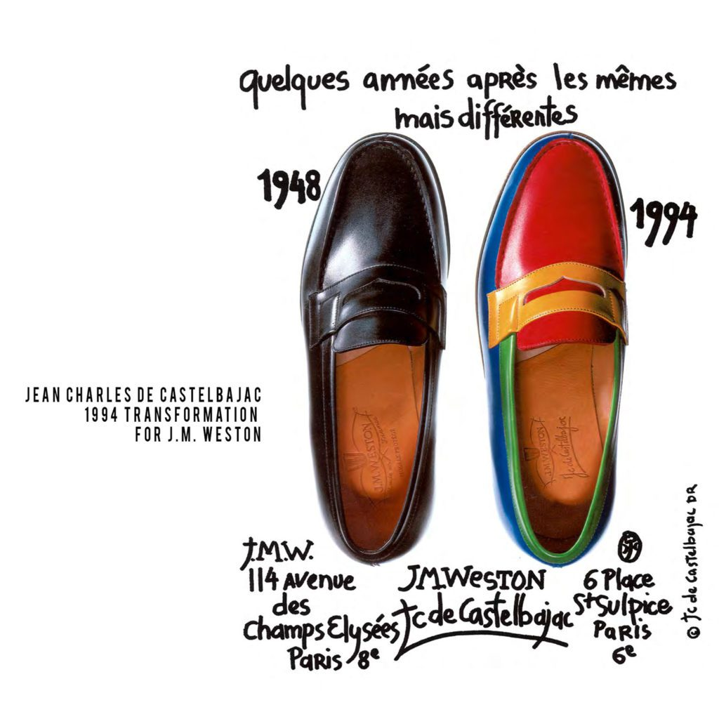 JC de Castelbajac-1994-for JM Weston