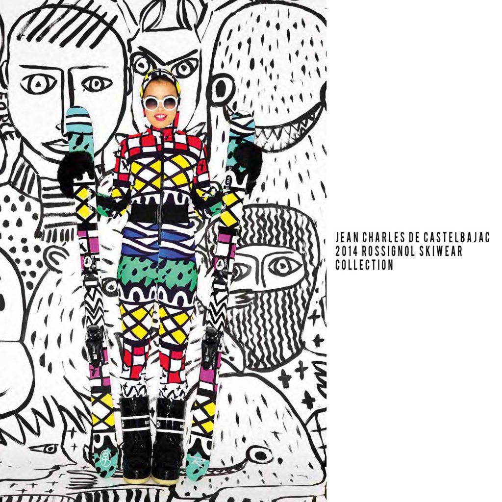 JC de Castelbajac-2013-Rossignol skiwear collection