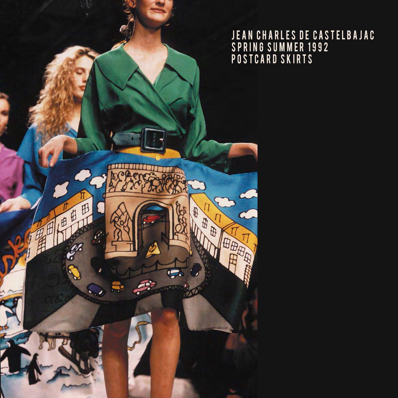 JC de Castelbajac-Summer-1992-Postcard-collection
