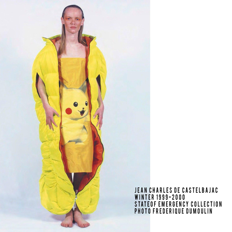 JC de Castelbajac-Winter 1999-2000, Pikachu dress, State of Emergency Collection